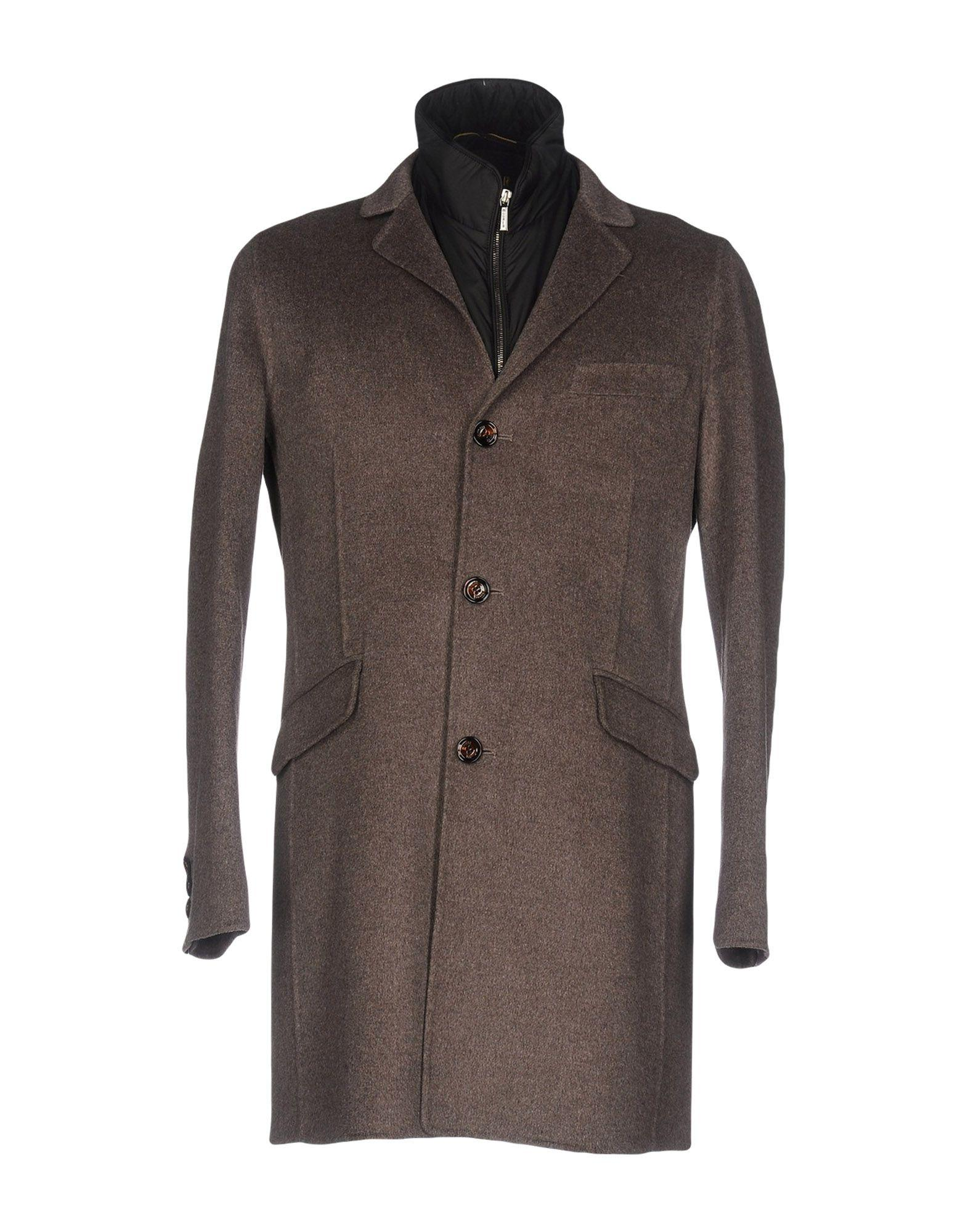 Moorer Coats In Khaki