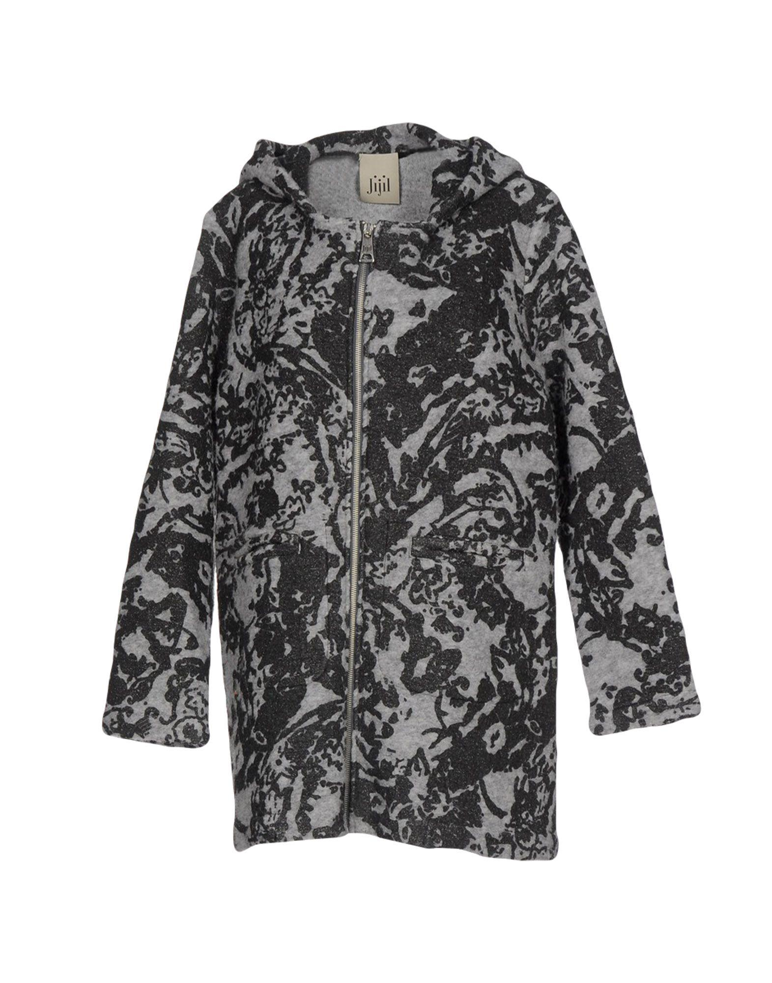 Jijil Coat In Grey