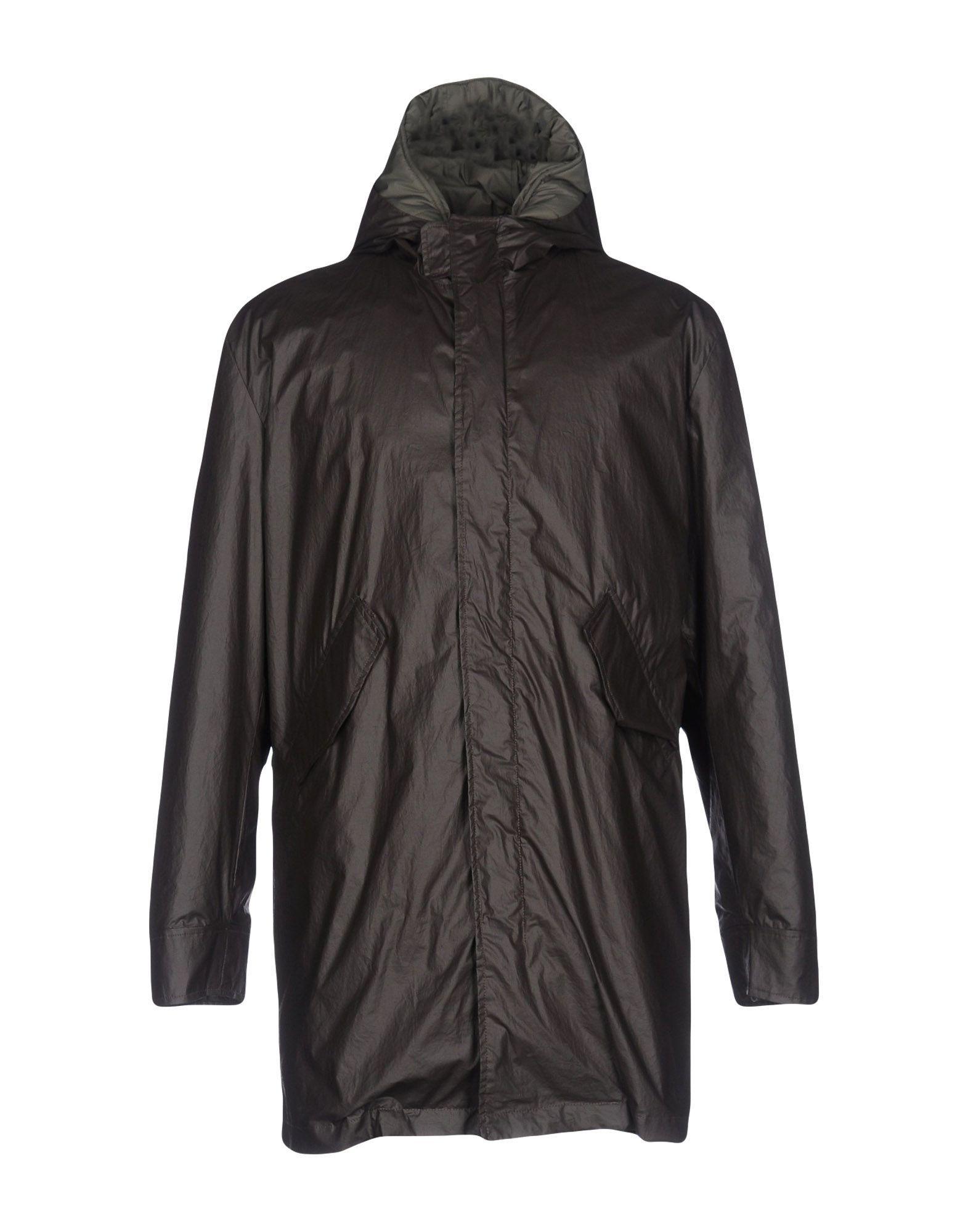 Frankie Morello Coats In Dark Brown