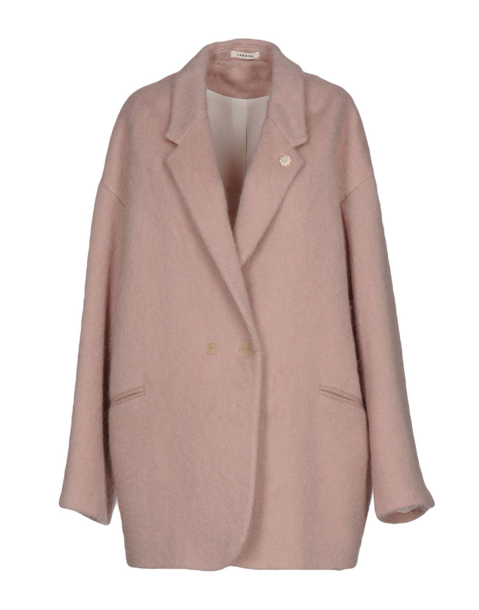 Lardini Coats In Light Pink