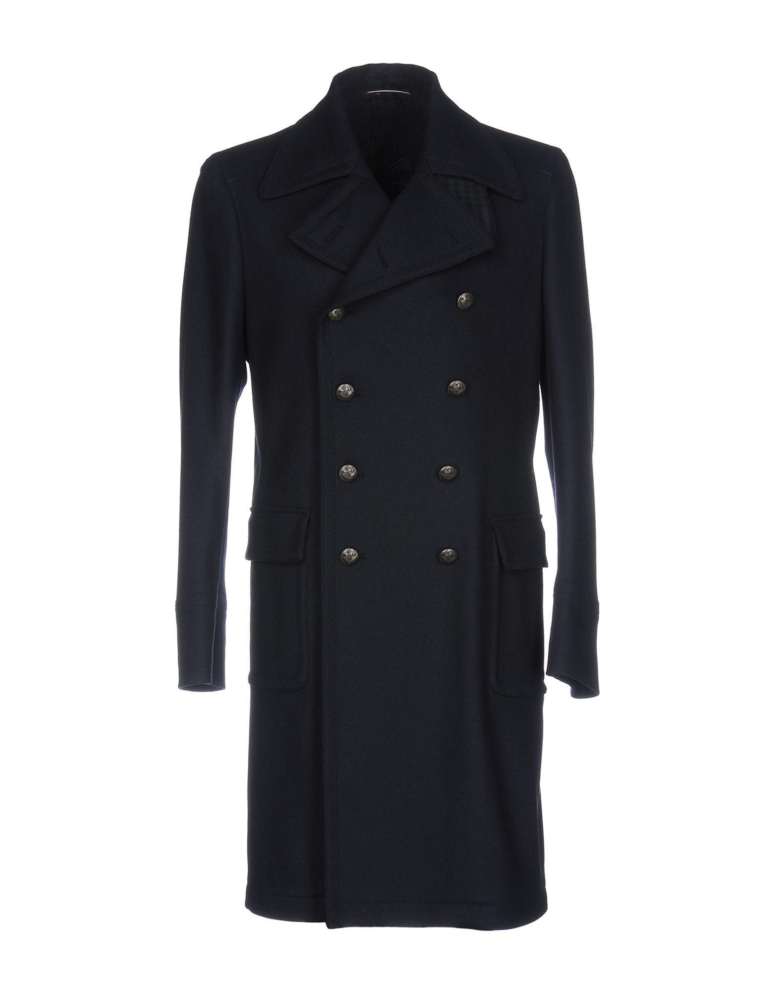 Roda Coat In Dark Blue