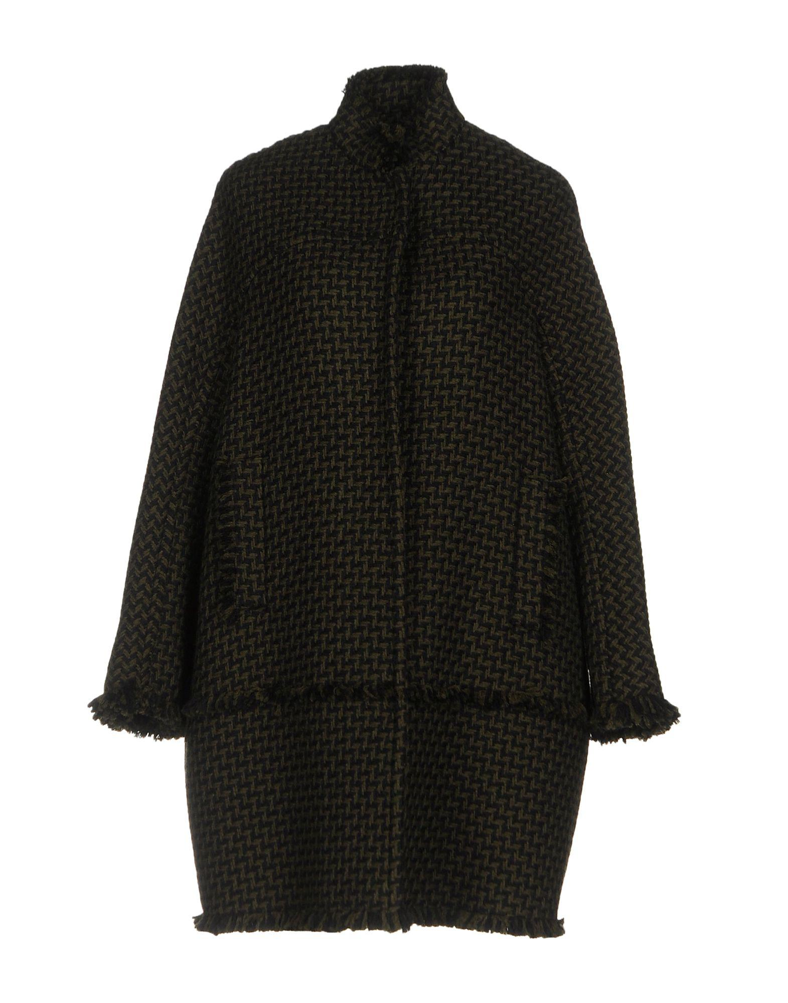 Gianluca Capannolo Coats In Military Green