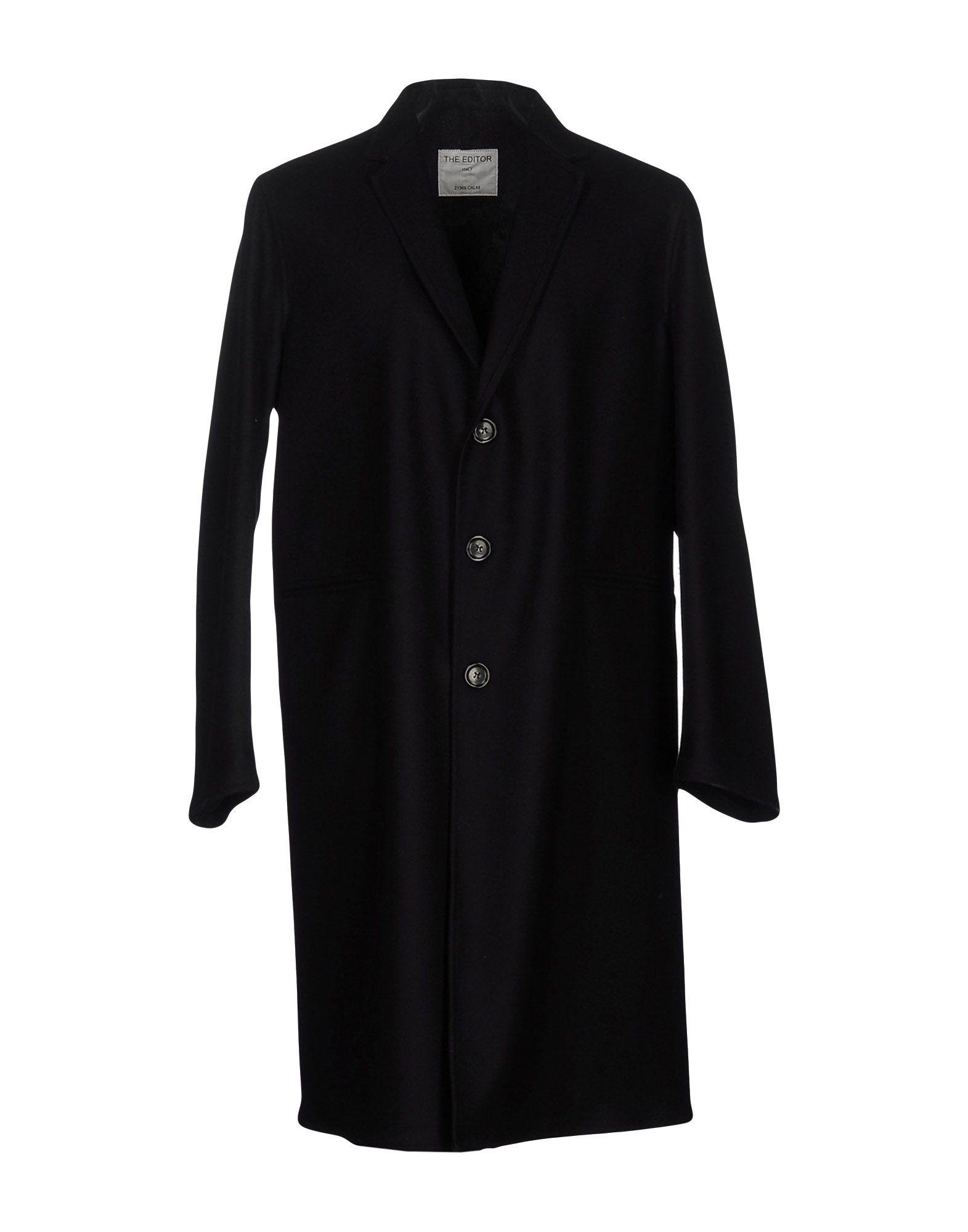 The Editor Coats In Black