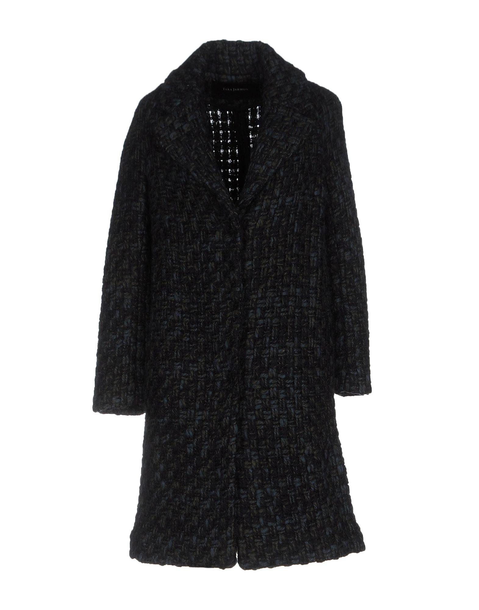 Tara Jarmon Coat In Dark Blue
