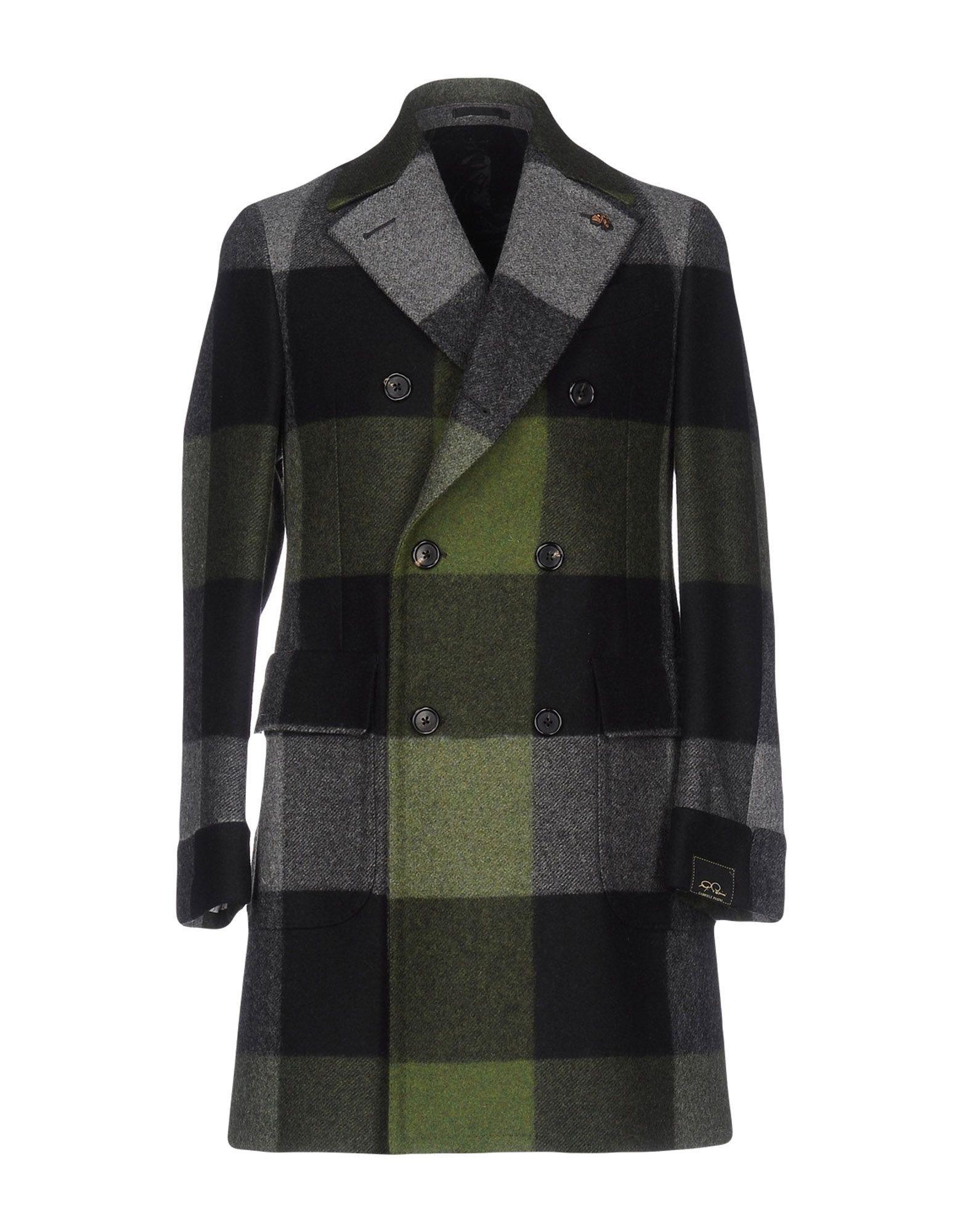 Gabriele Pasini Coats In Green