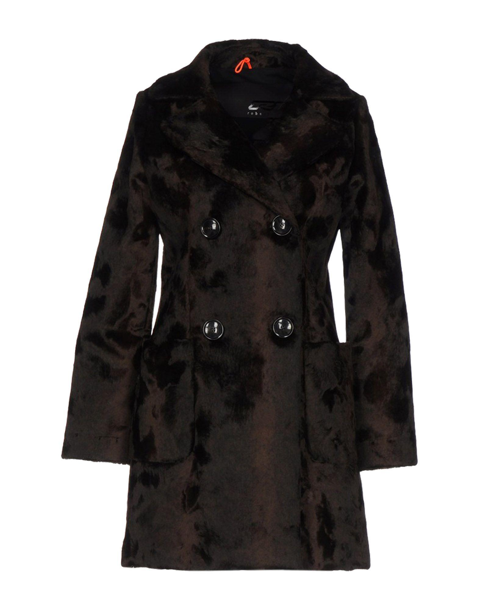 Rrd Coat In Dark Brown