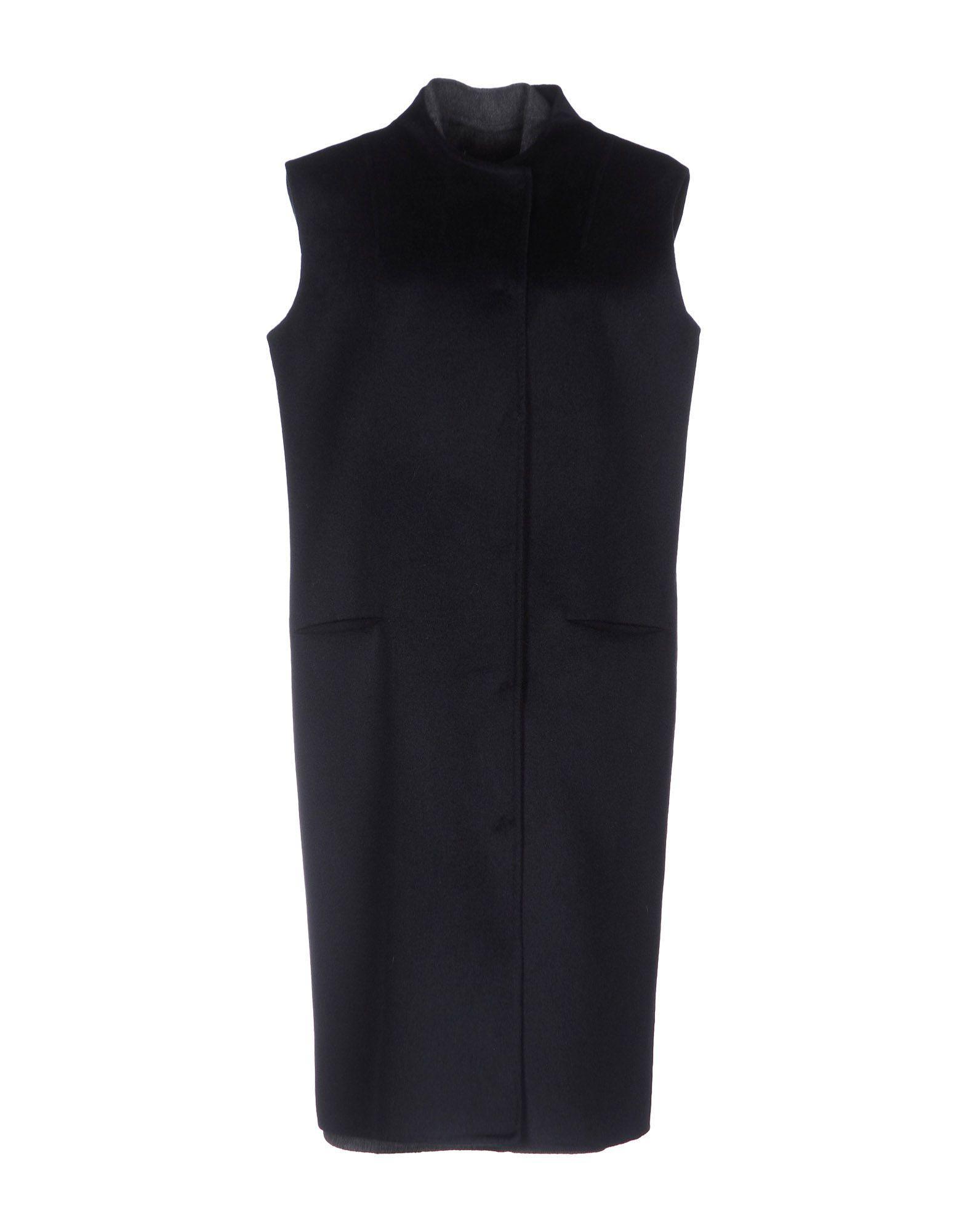 Liviana Conti Coats In Dark Blue
