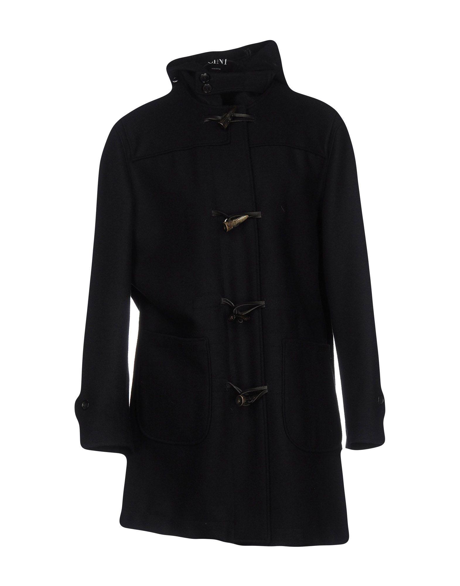 Cini Coat In Dark Blue