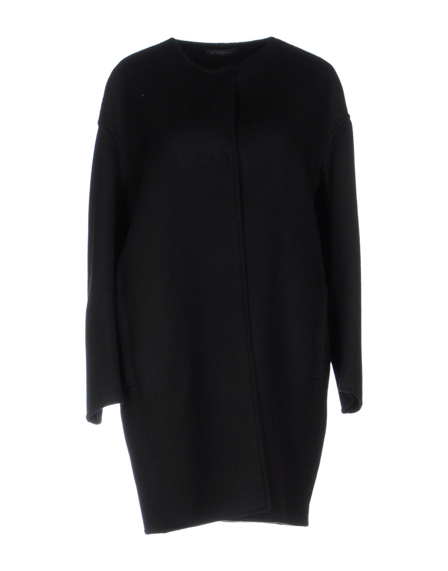 Antonelli Coat In Black