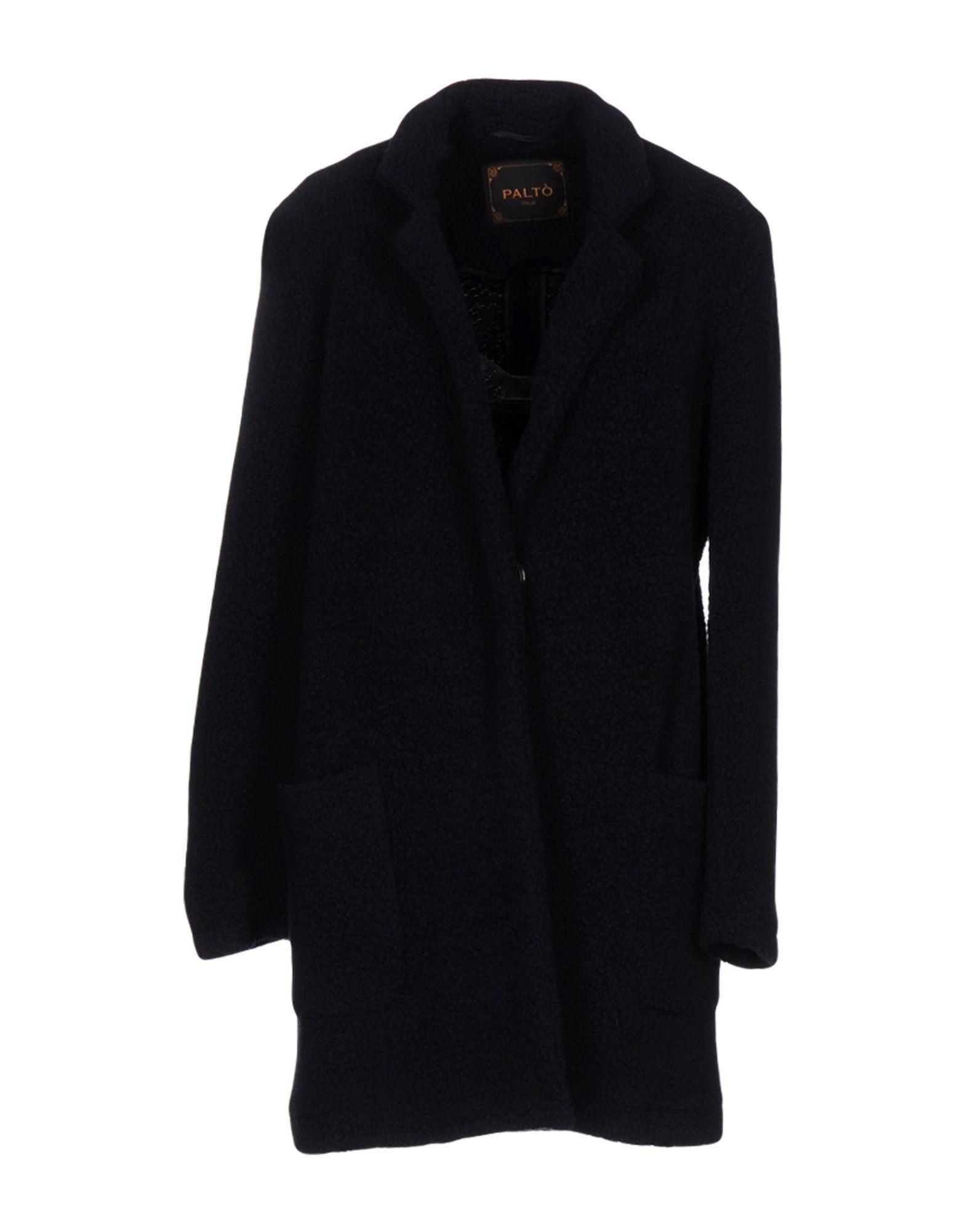 PaltÒ Coat In Dark Blue