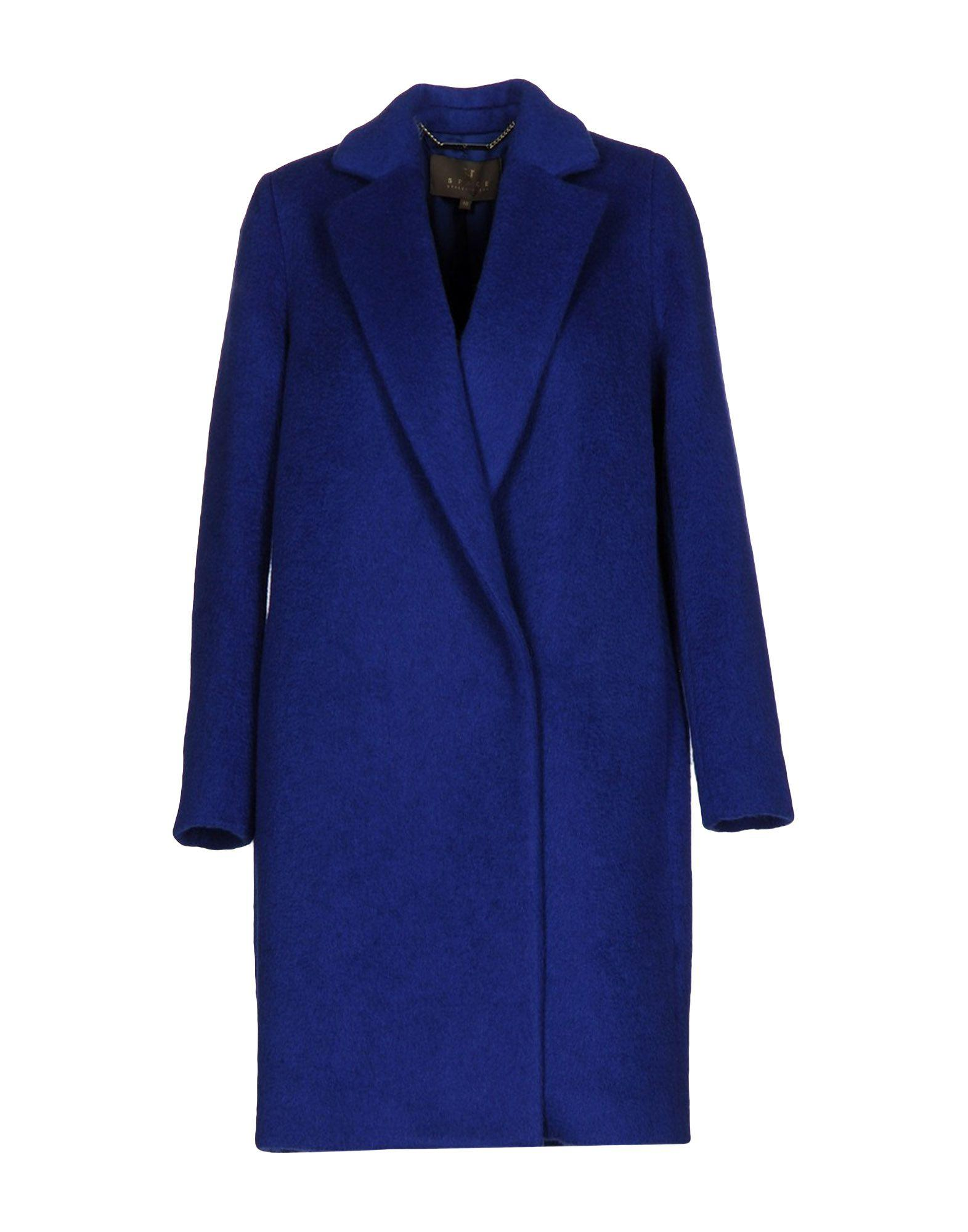 Space Style Concept Coats In Blue