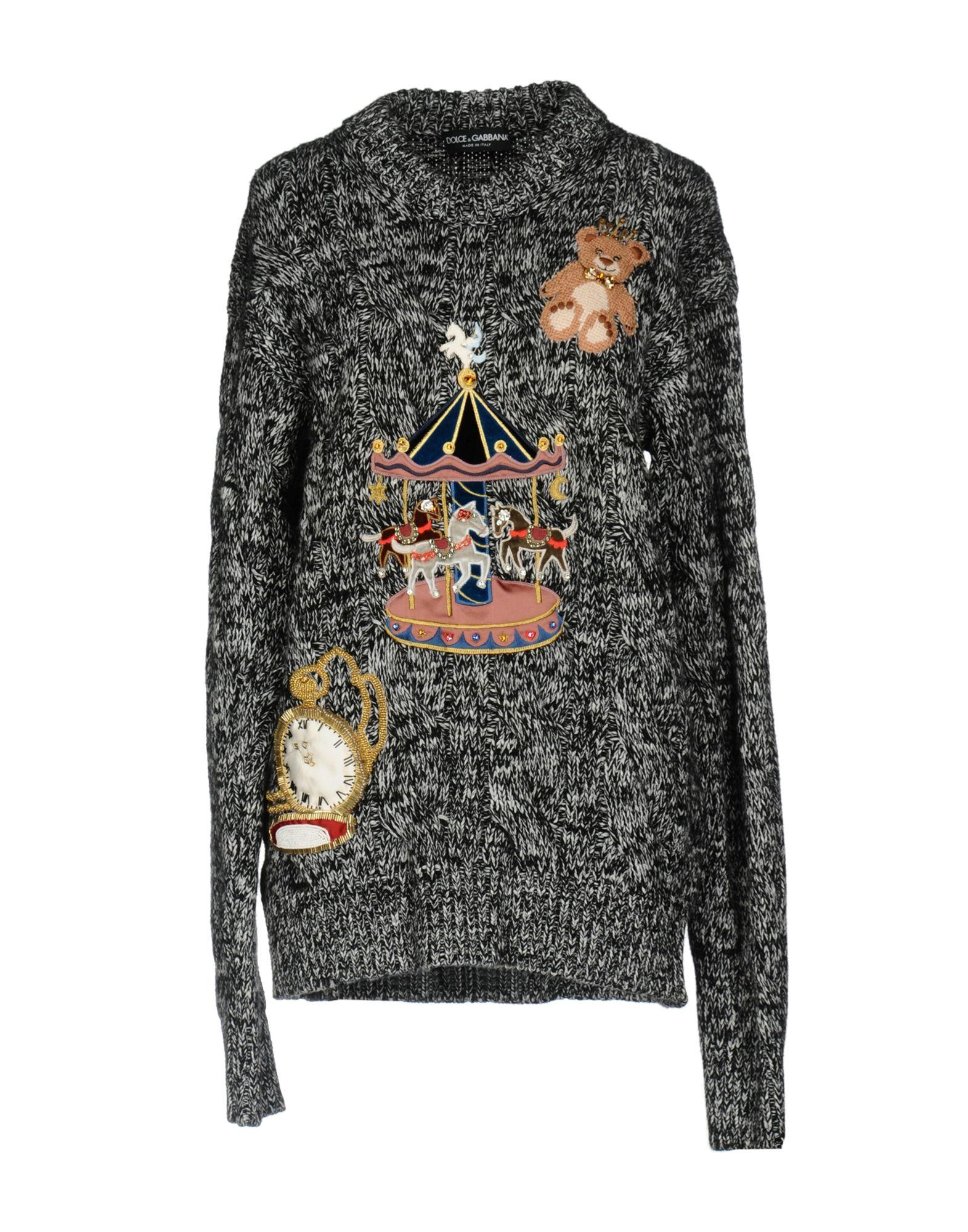 Dolce & Gabbana Cashmere Blend In Black