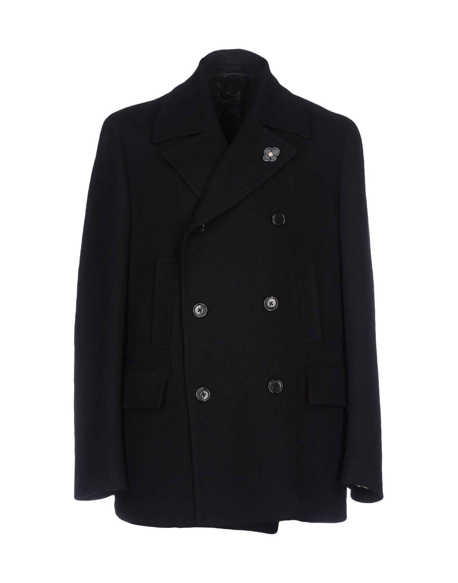 Lardini Coats In Dark Blue