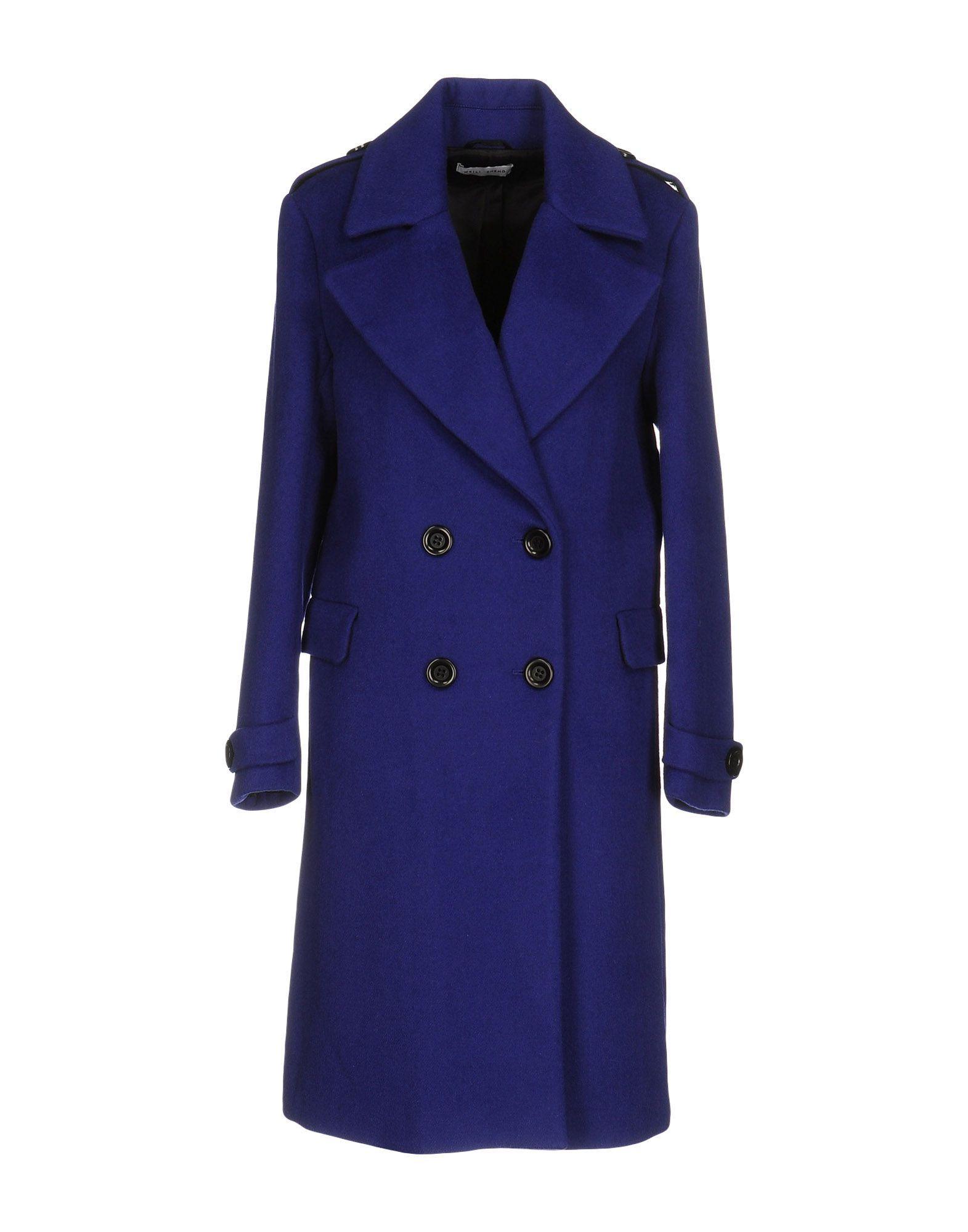 Weili Zheng Coats In Bright Blue