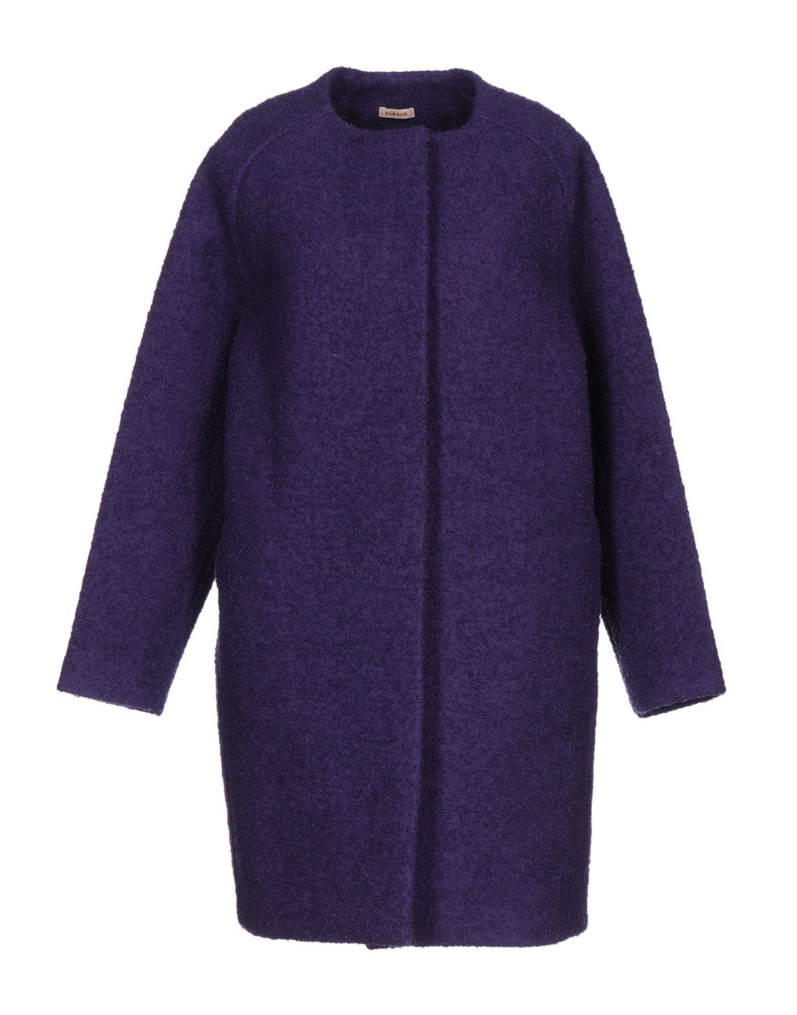 P.a.r.o.s.h. Coats In Purple
