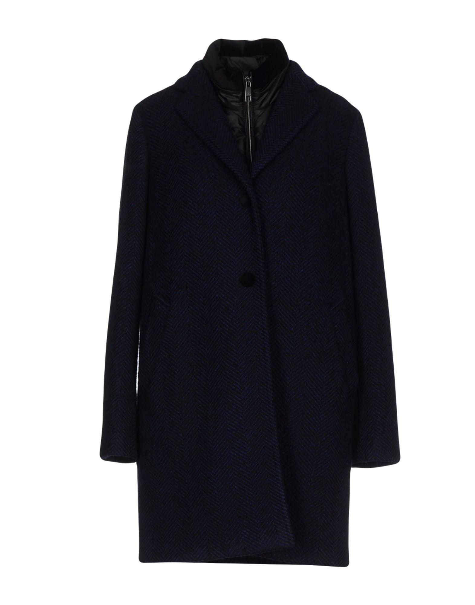Fay Coat In Dark Blue