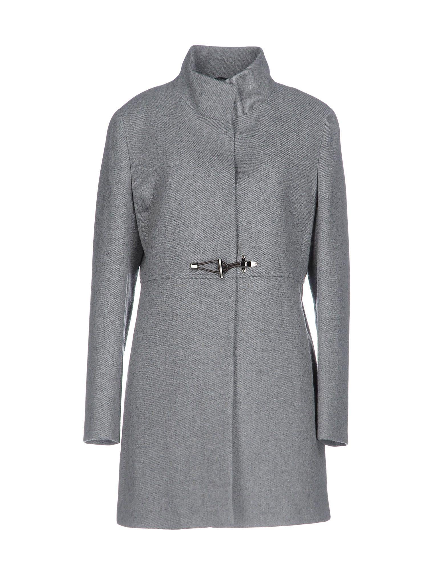 Fay Coats In Light Grey