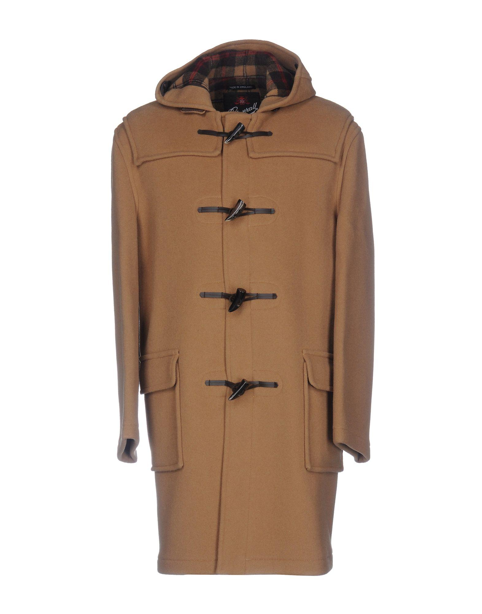 Gloverall Coats In Camel