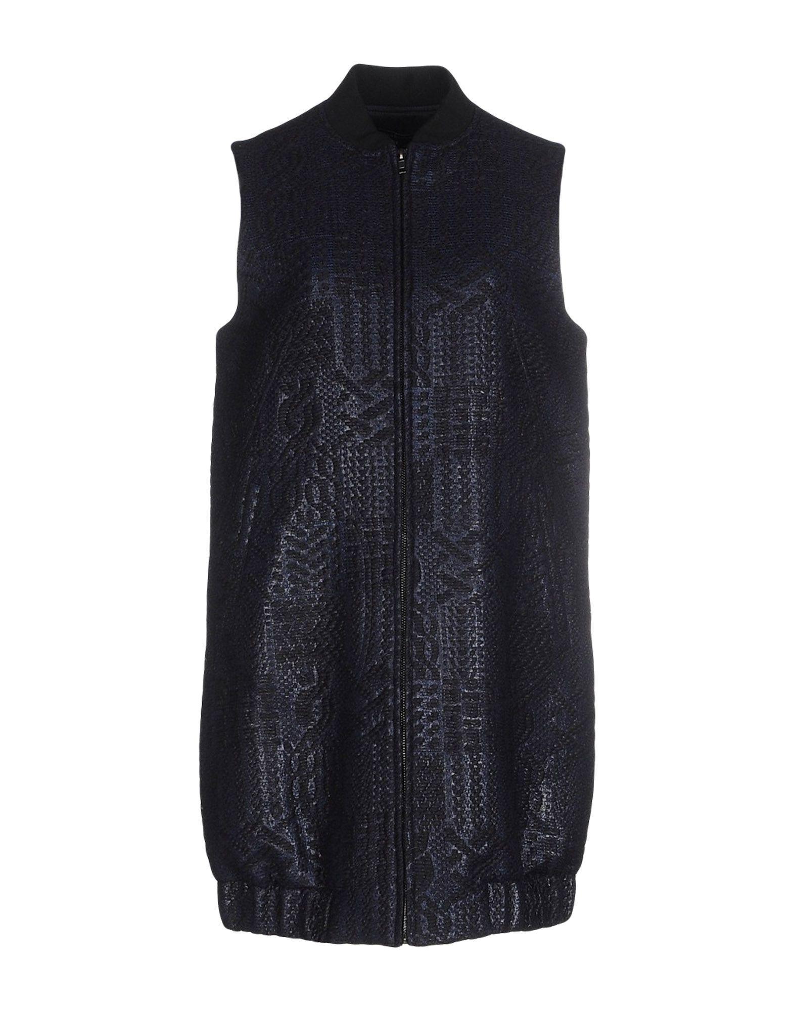 Tess Giberson Coat In Dark Blue