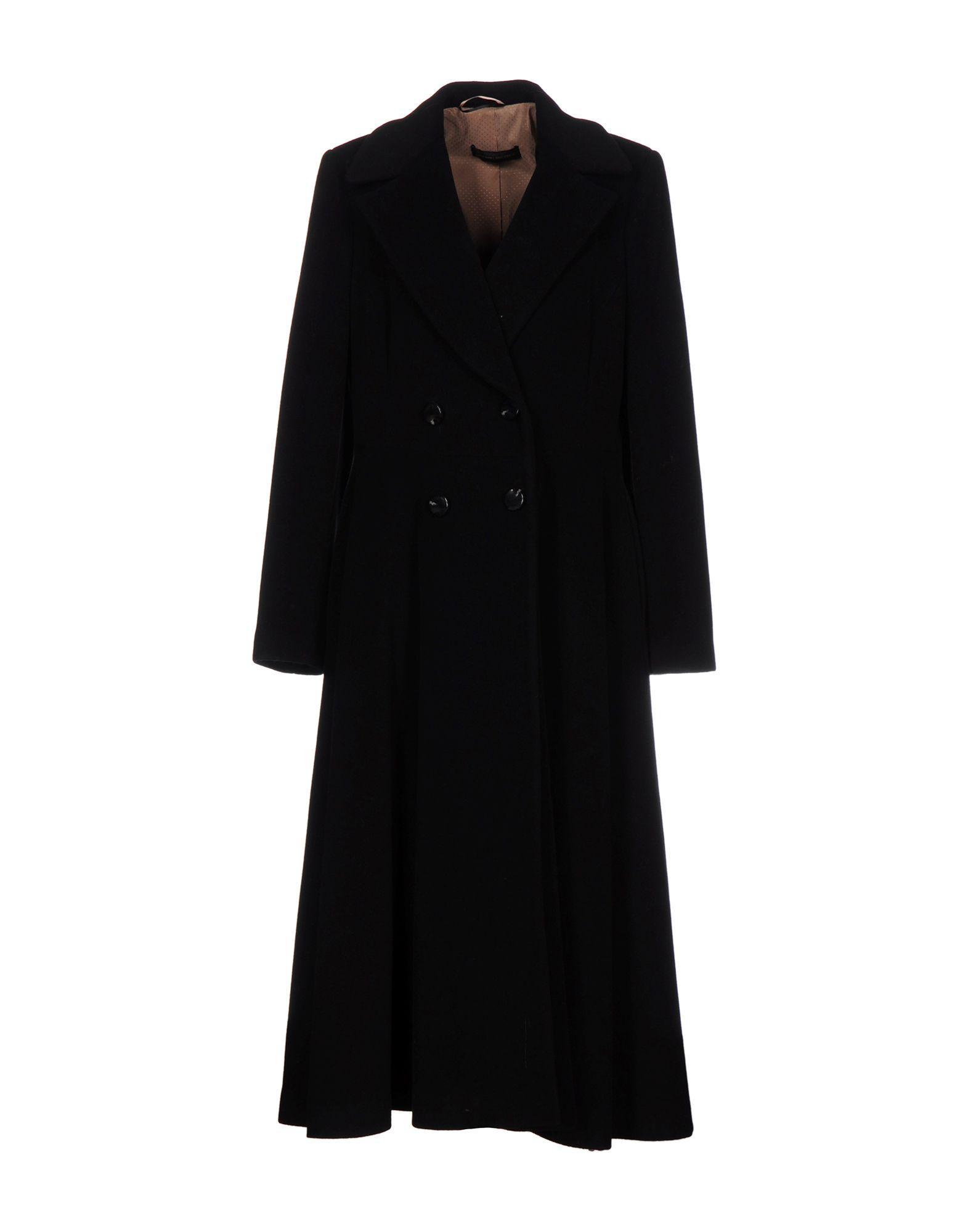Alessandro Dell'acqua Coats In Black