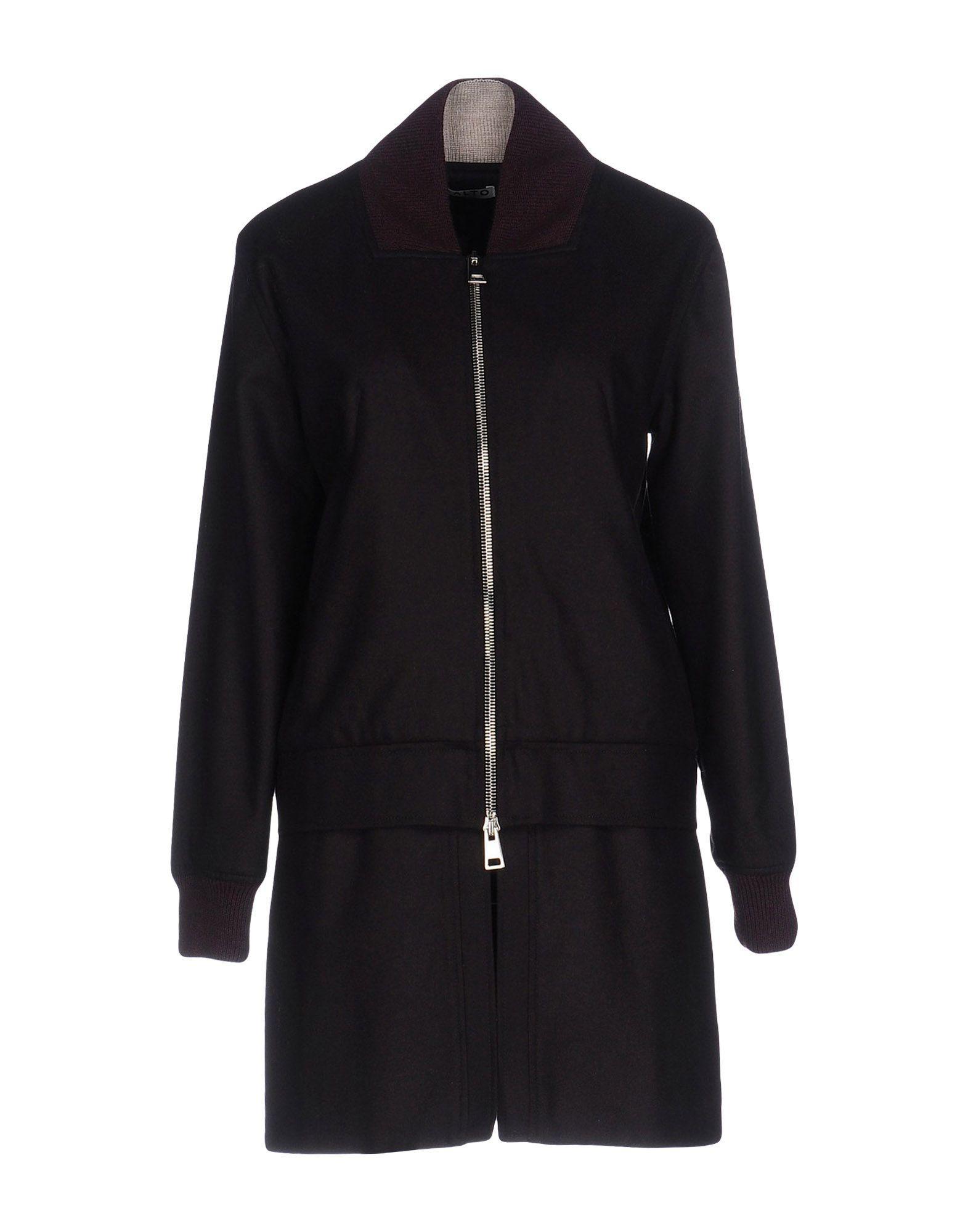 Aalto Coats In Deep Purple