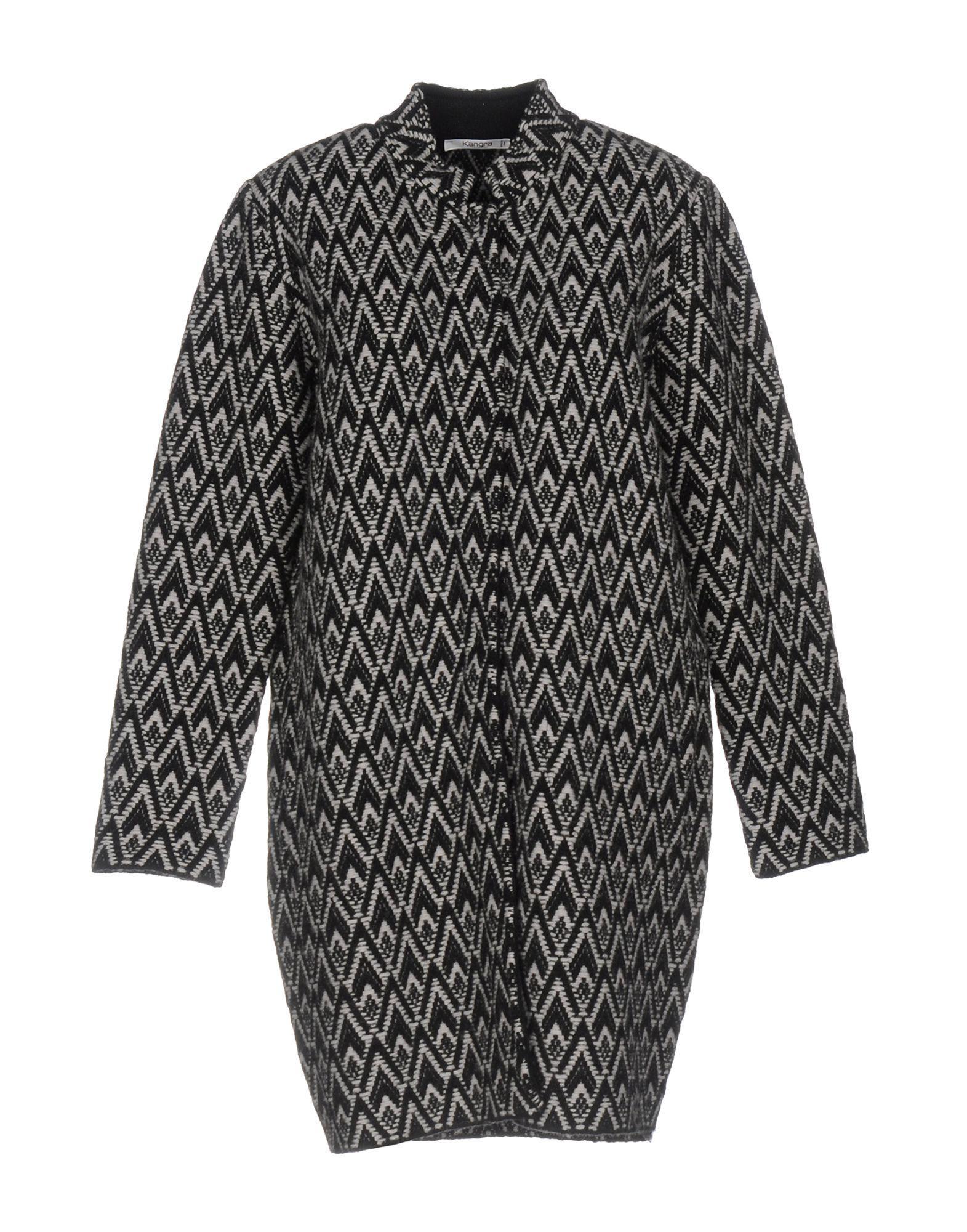 Kangra Cashmere Coats In Black