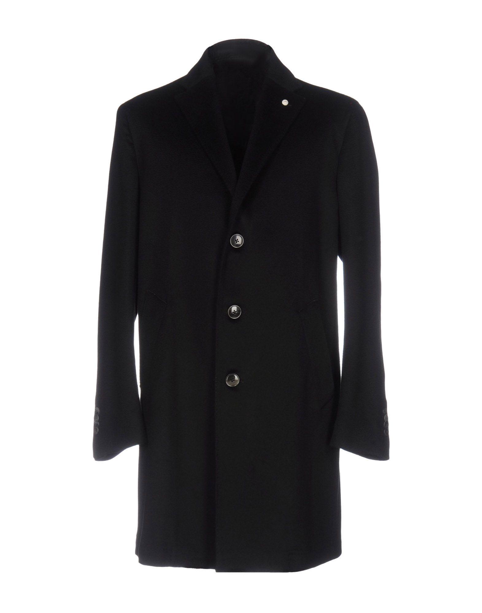 Luigi Bianchi Mantova Coats In Black