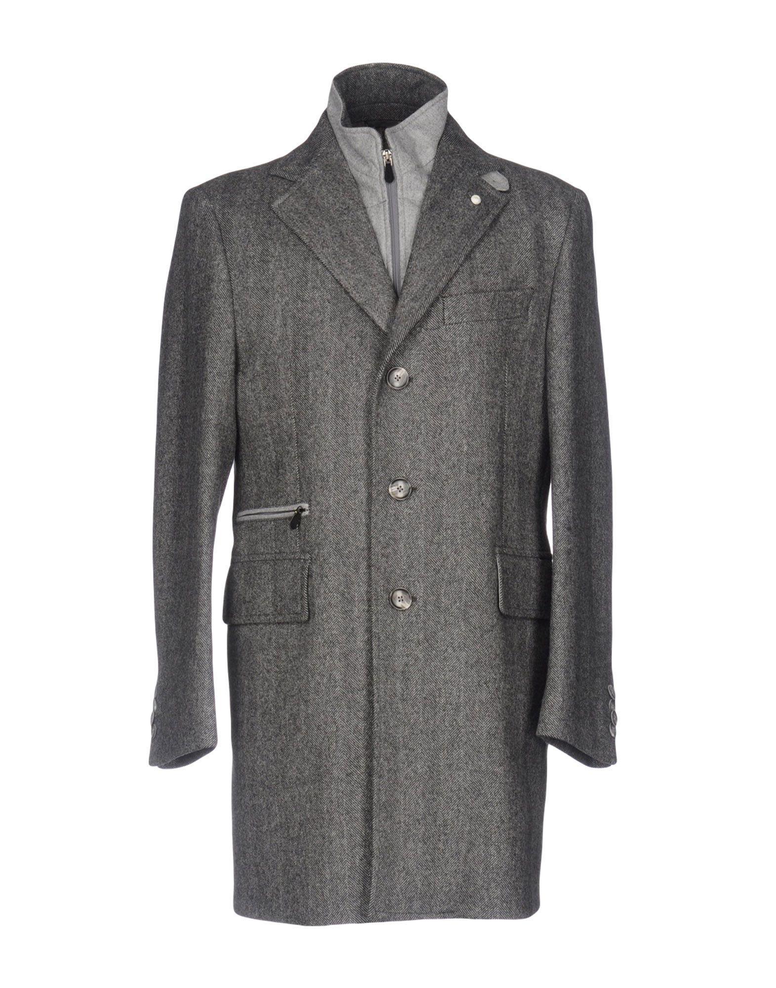 Luigi Bianchi Mantova Coat In Grey