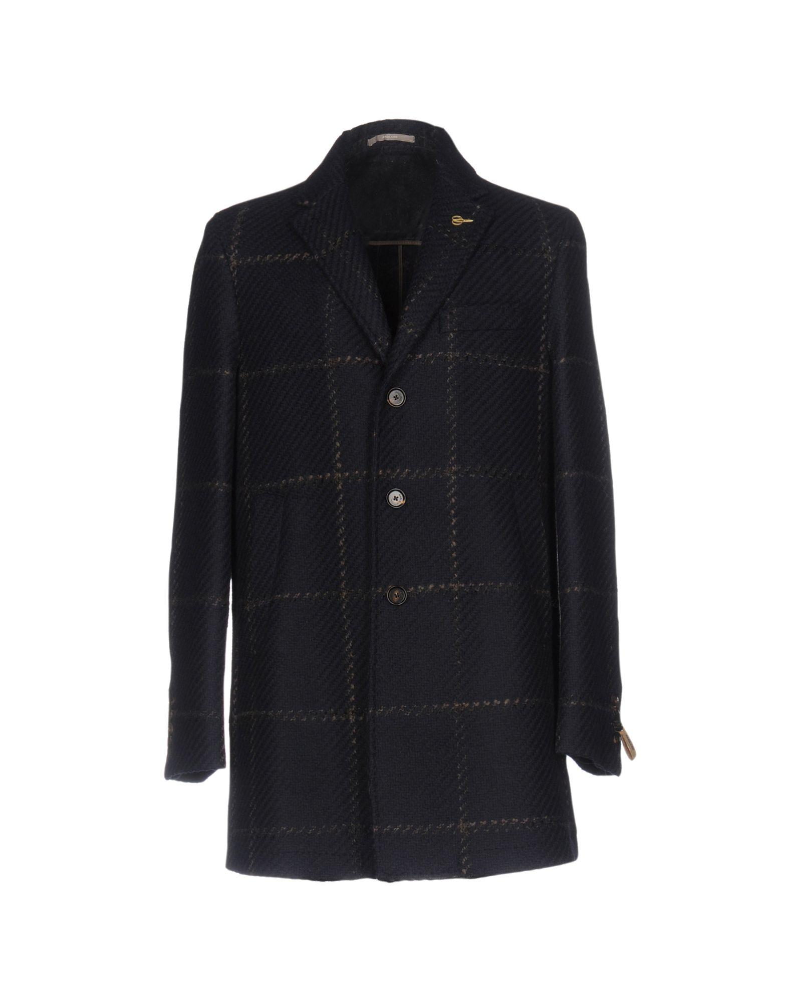 Paoloni Coats In Dark Blue