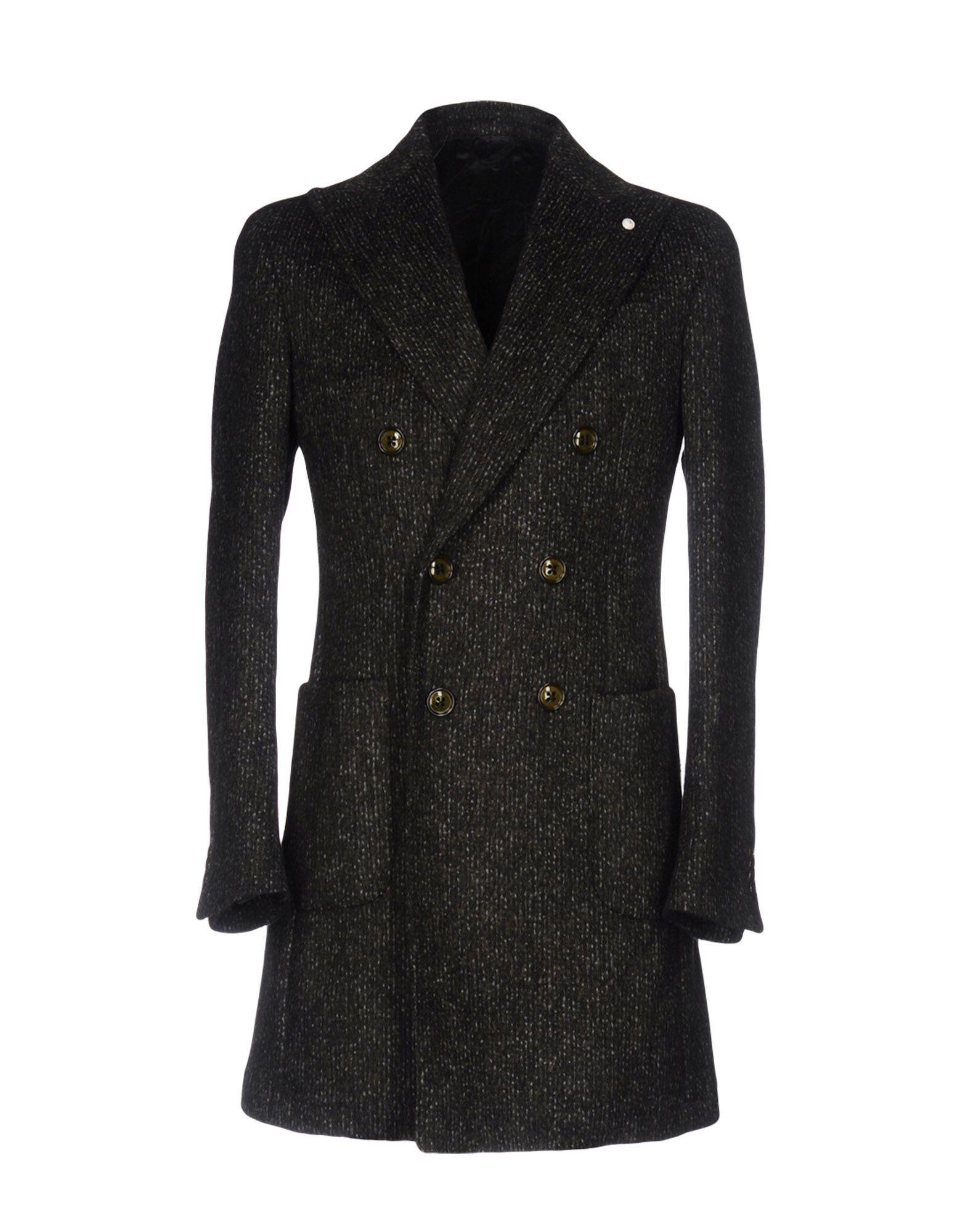 Luigi Bianchi Mantova Coats In Dark Green