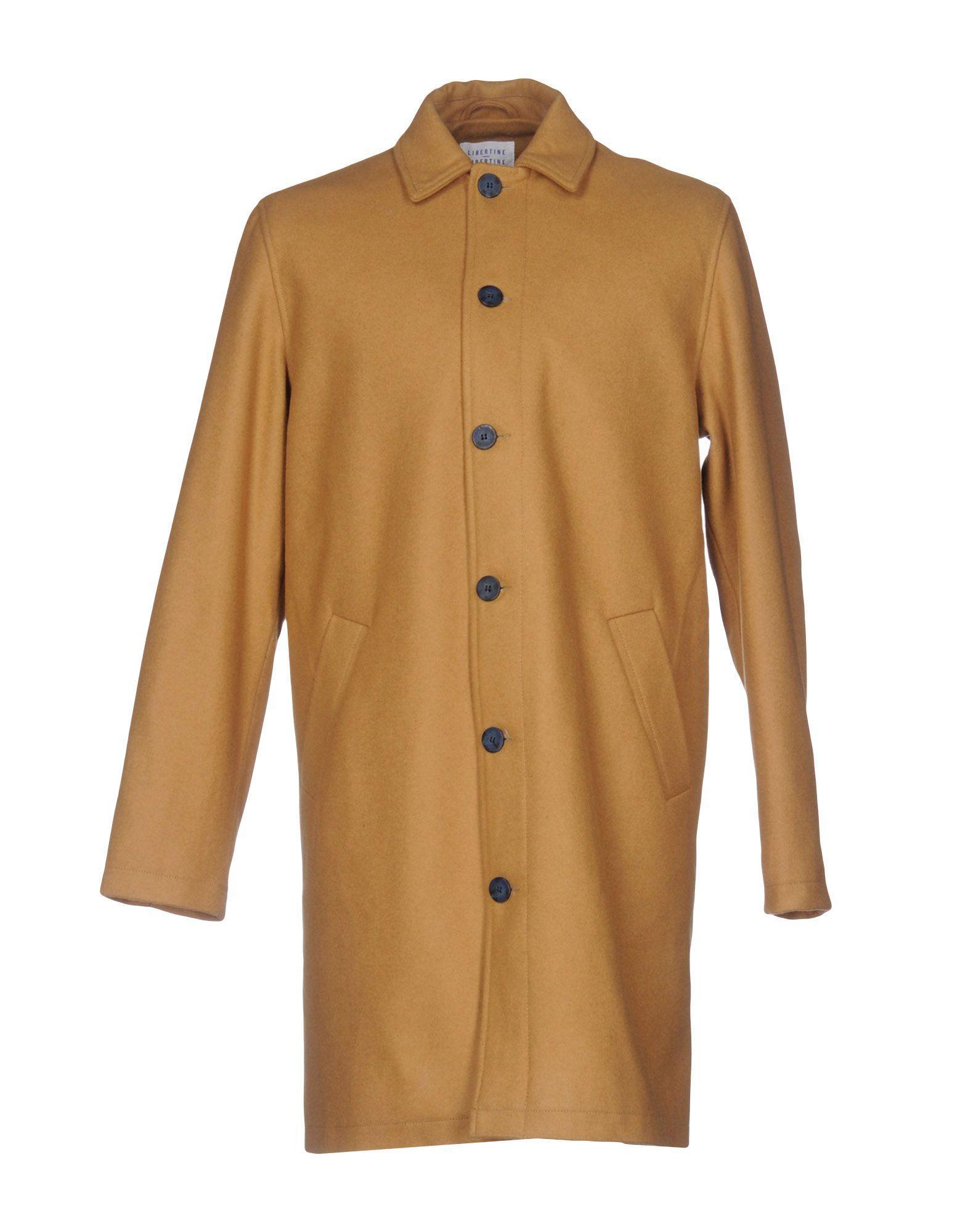 Libertine-libertine Coats In Camel