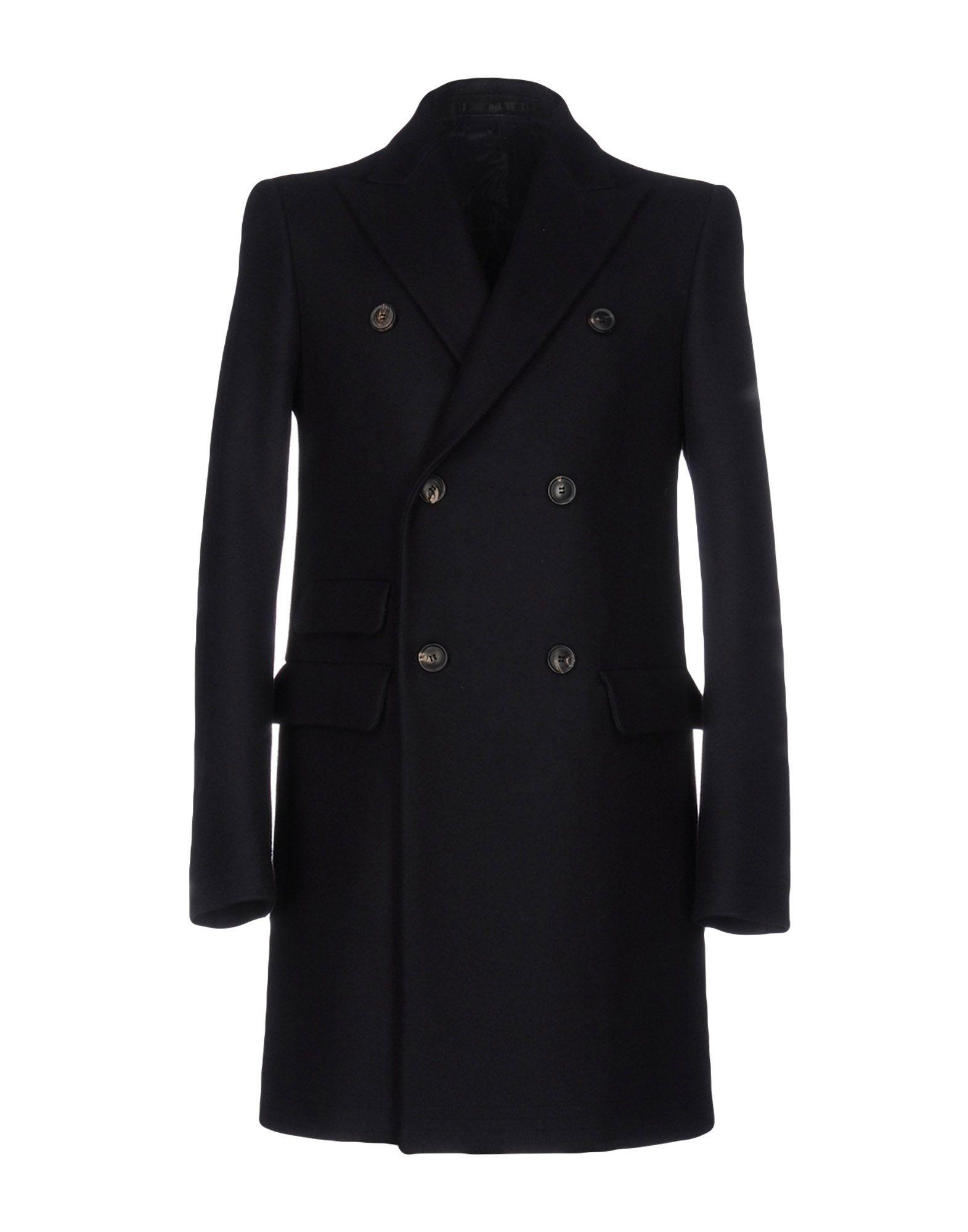 Mauro Grifoni Coat In Dark Blue