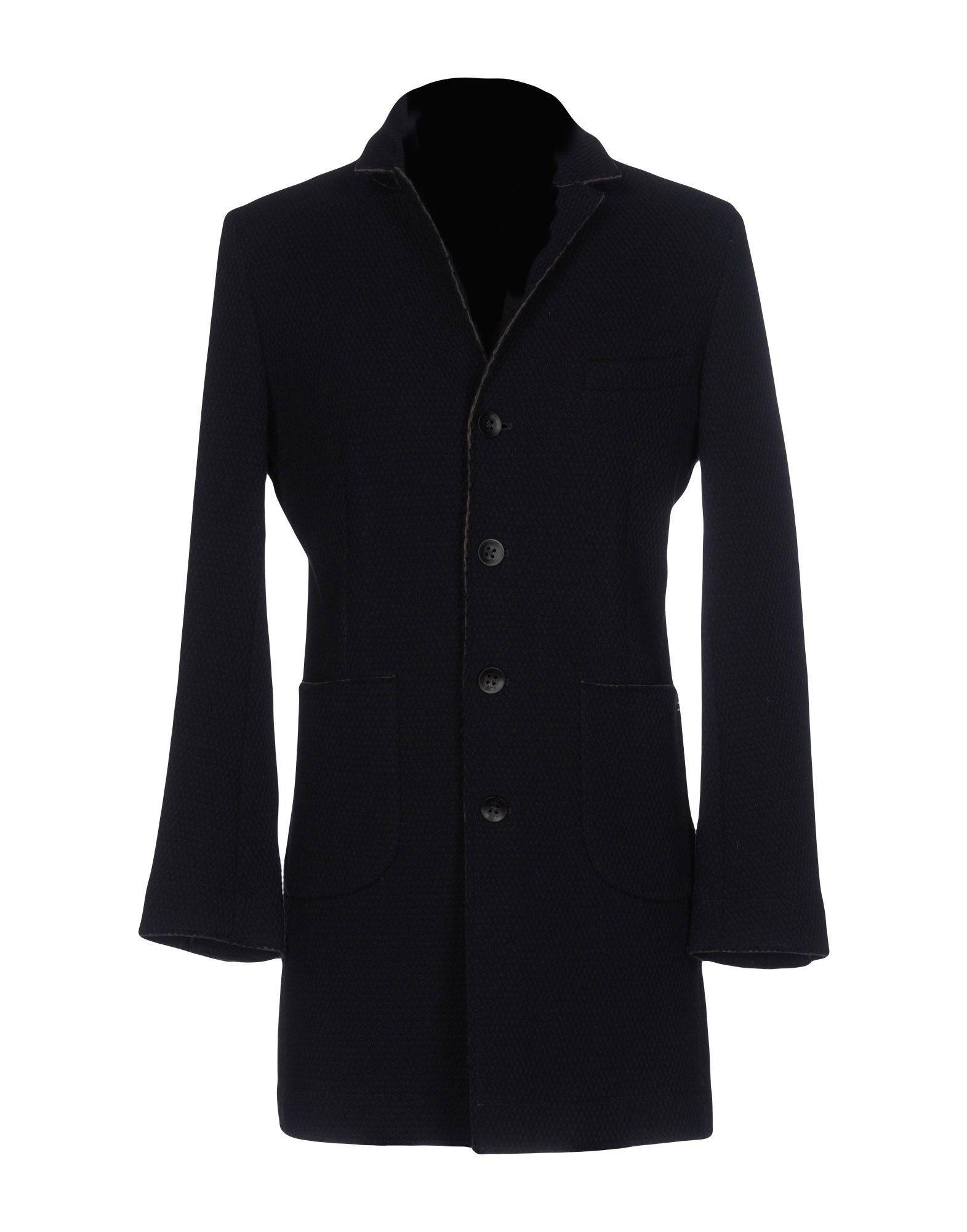 Mason's Coat In Dark Blue