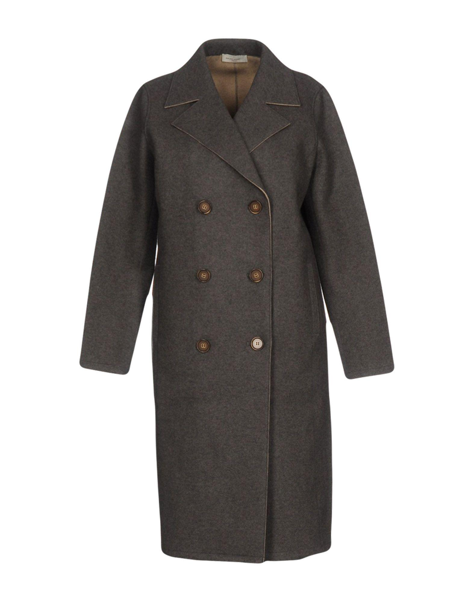 Bruno Manetti Coat In Grey
