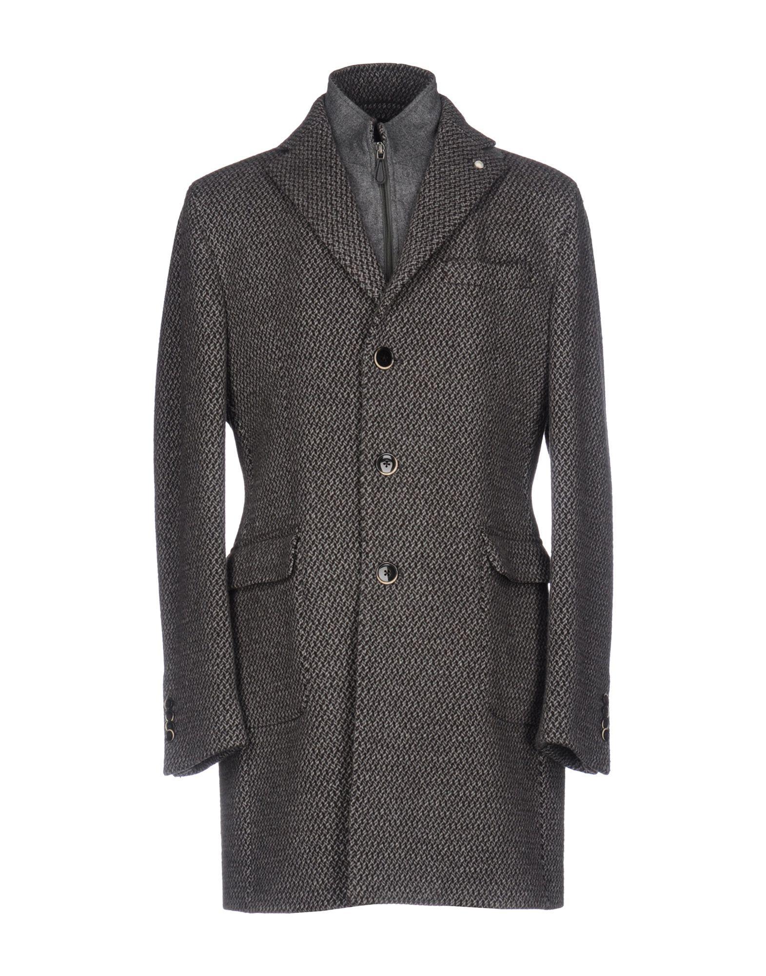 Luigi Bianchi Mantova Coat In Dark Brown