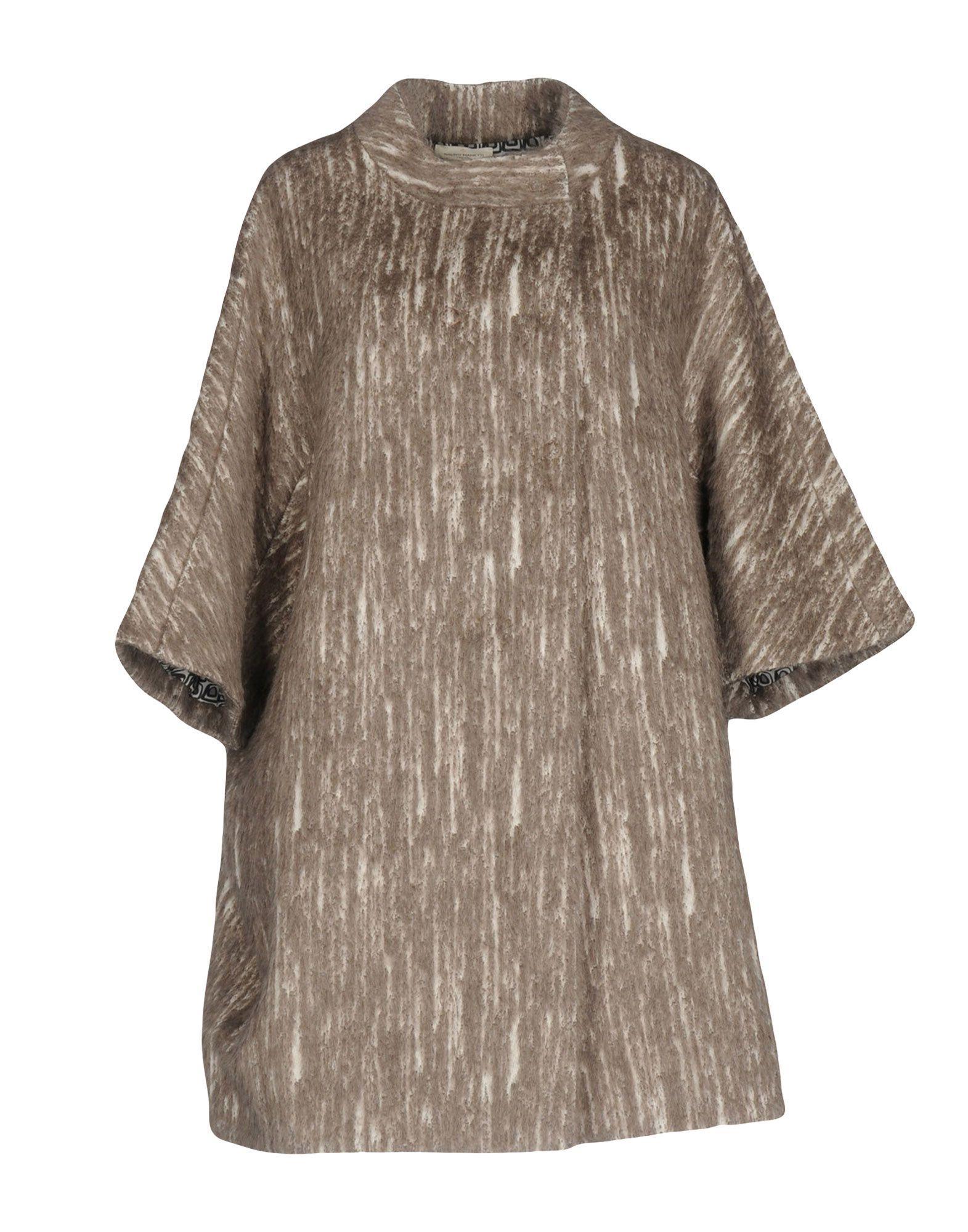 Bruno Manetti Coat In Khaki
