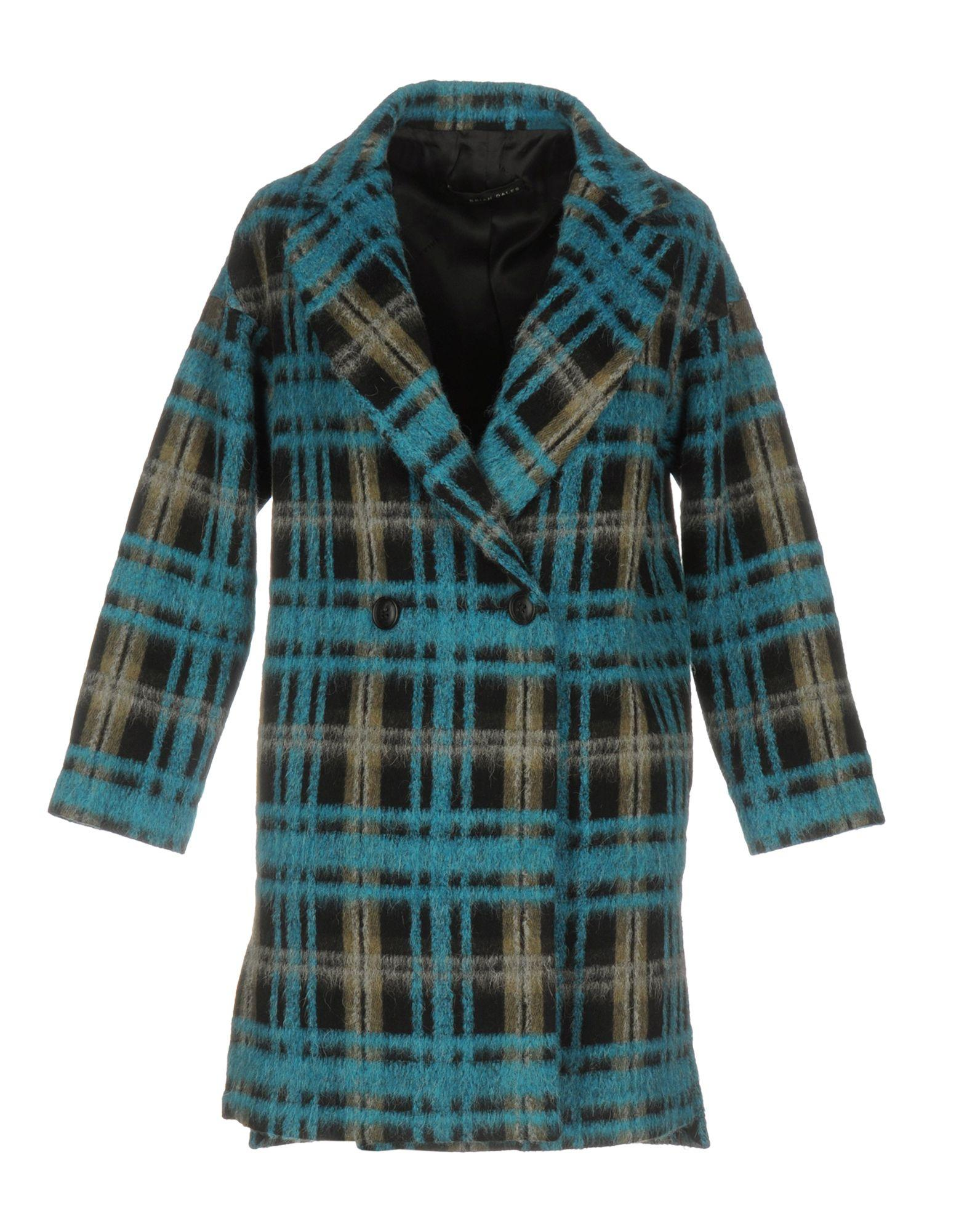 Brian Dales Coats In Turquoise