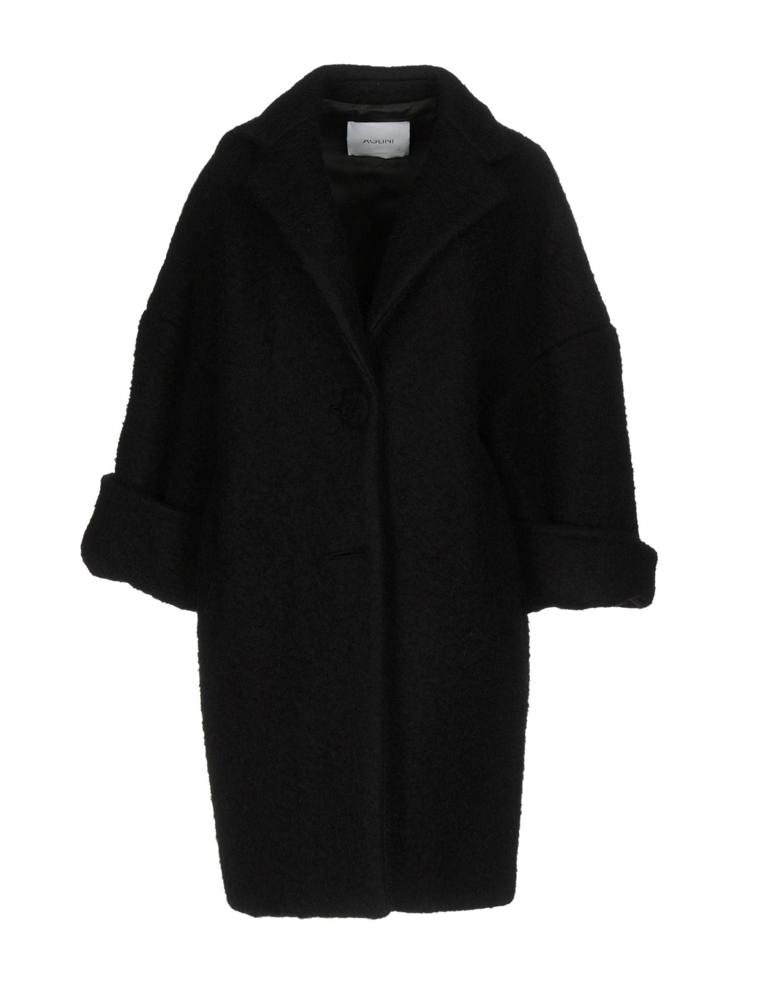 Aglini Coats In Black