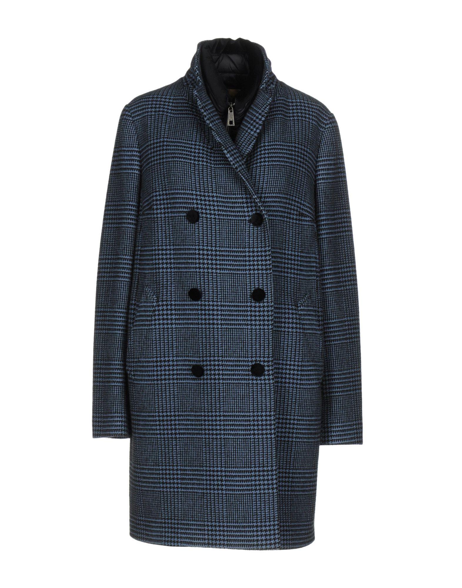Fay Coat In Slate Blue