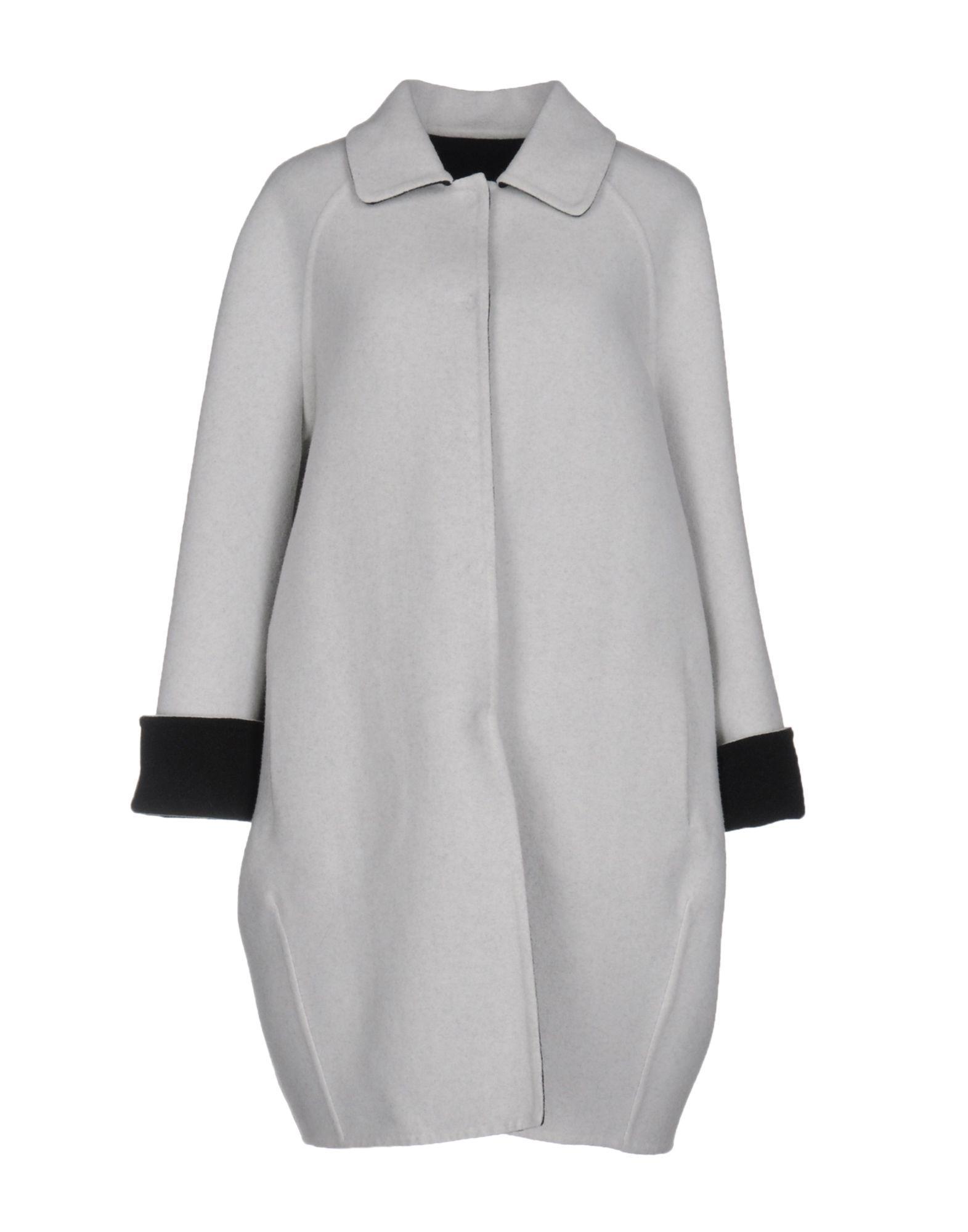 Gianluca Capannolo Coats In Light Grey