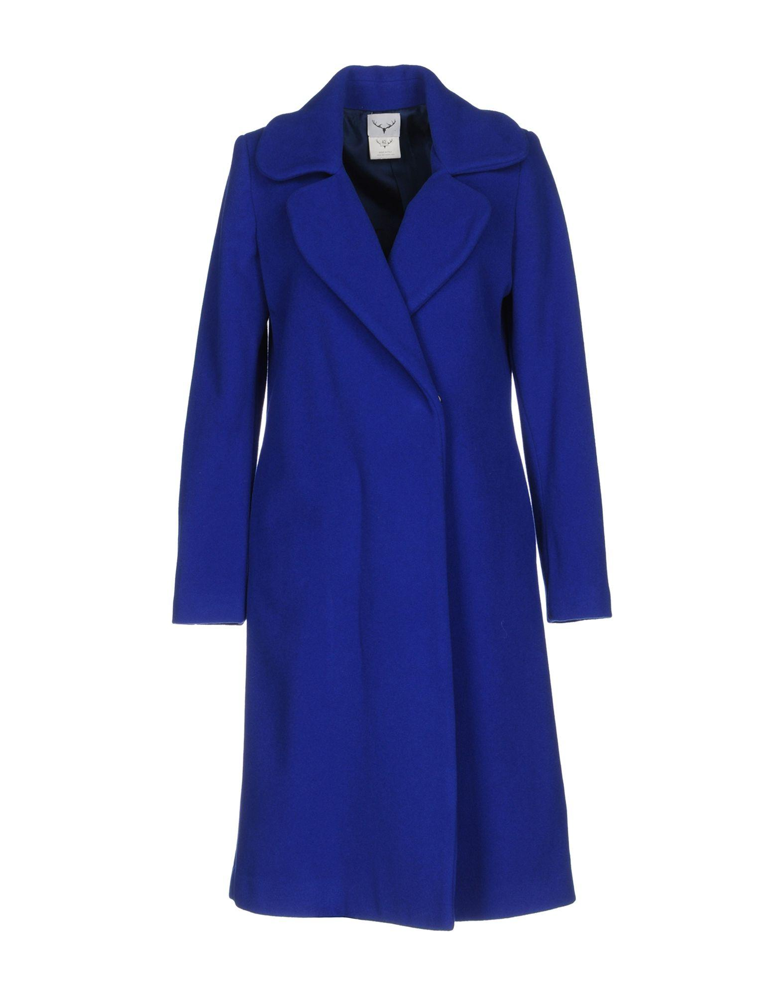 Leitmotiv Coats In Bright Blue
