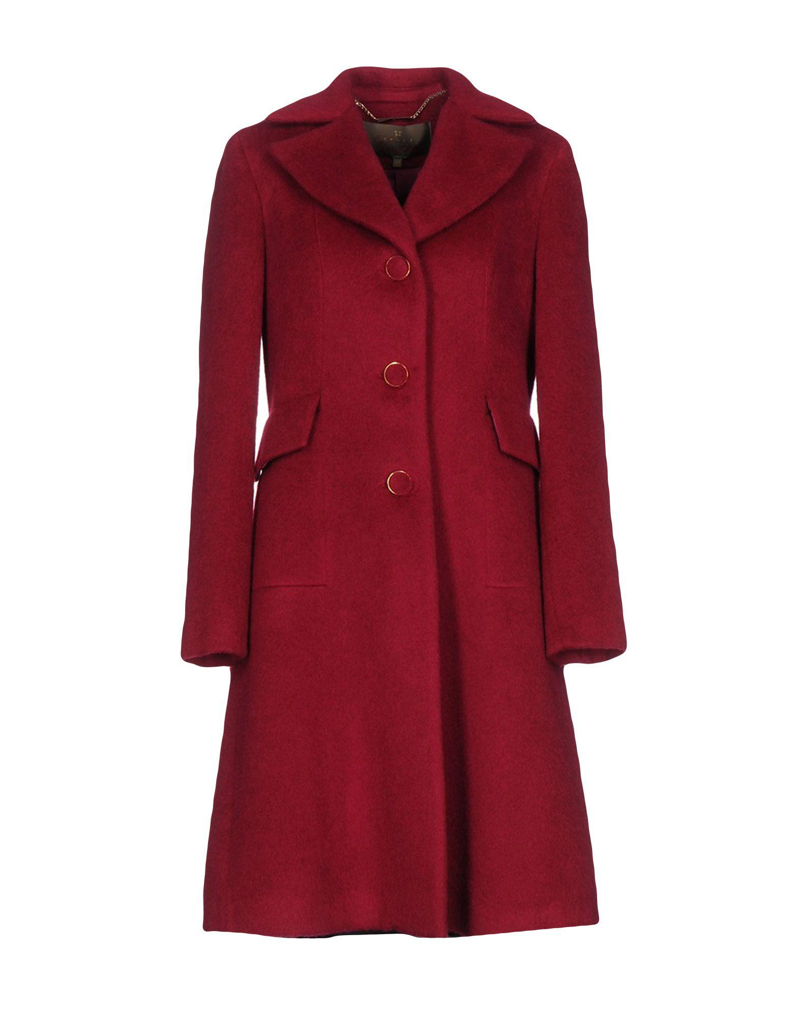 Space Style Concept Coats In Garnet