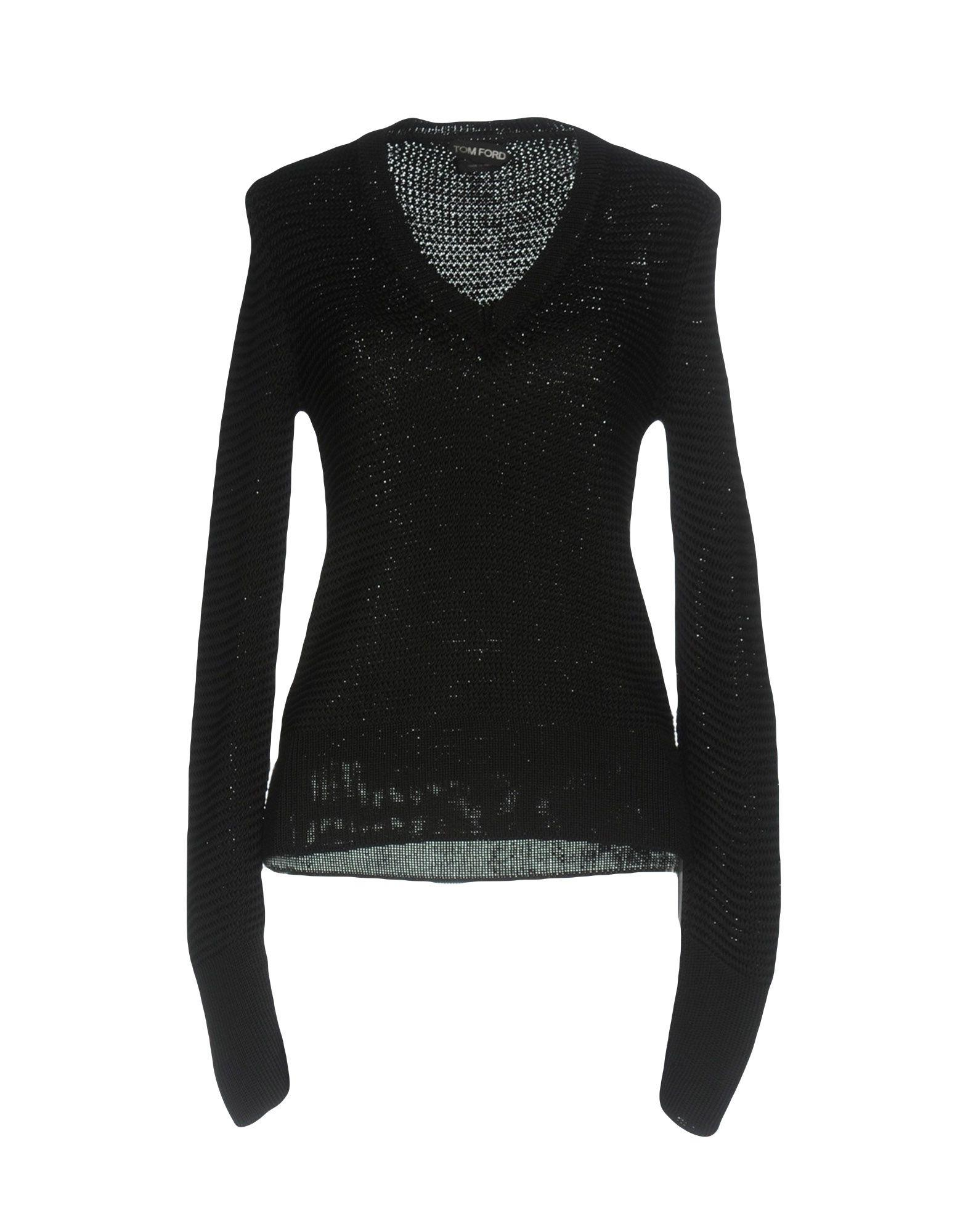 Tom Ford Sweater In Black