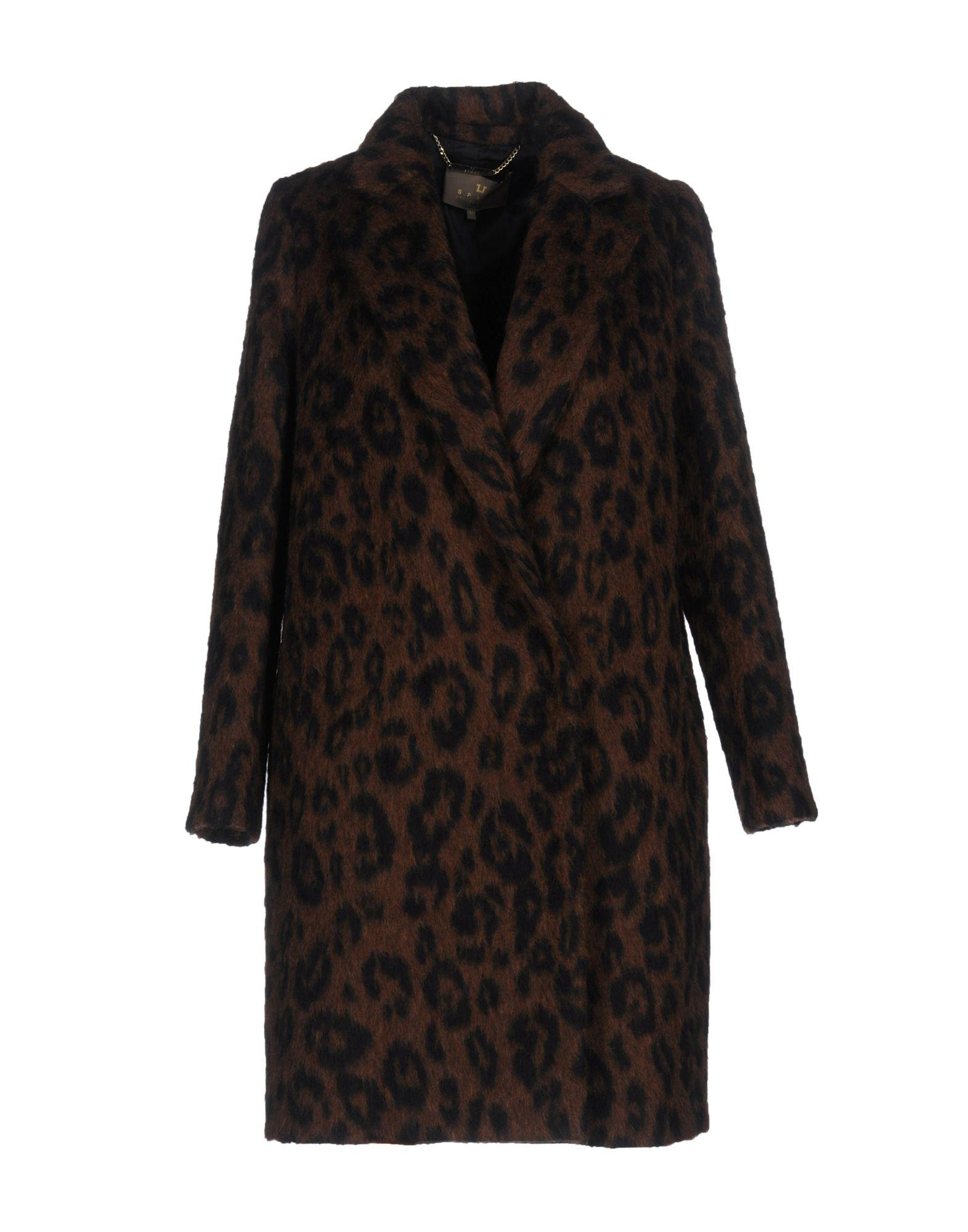 Space Style Concept Coat In Brown