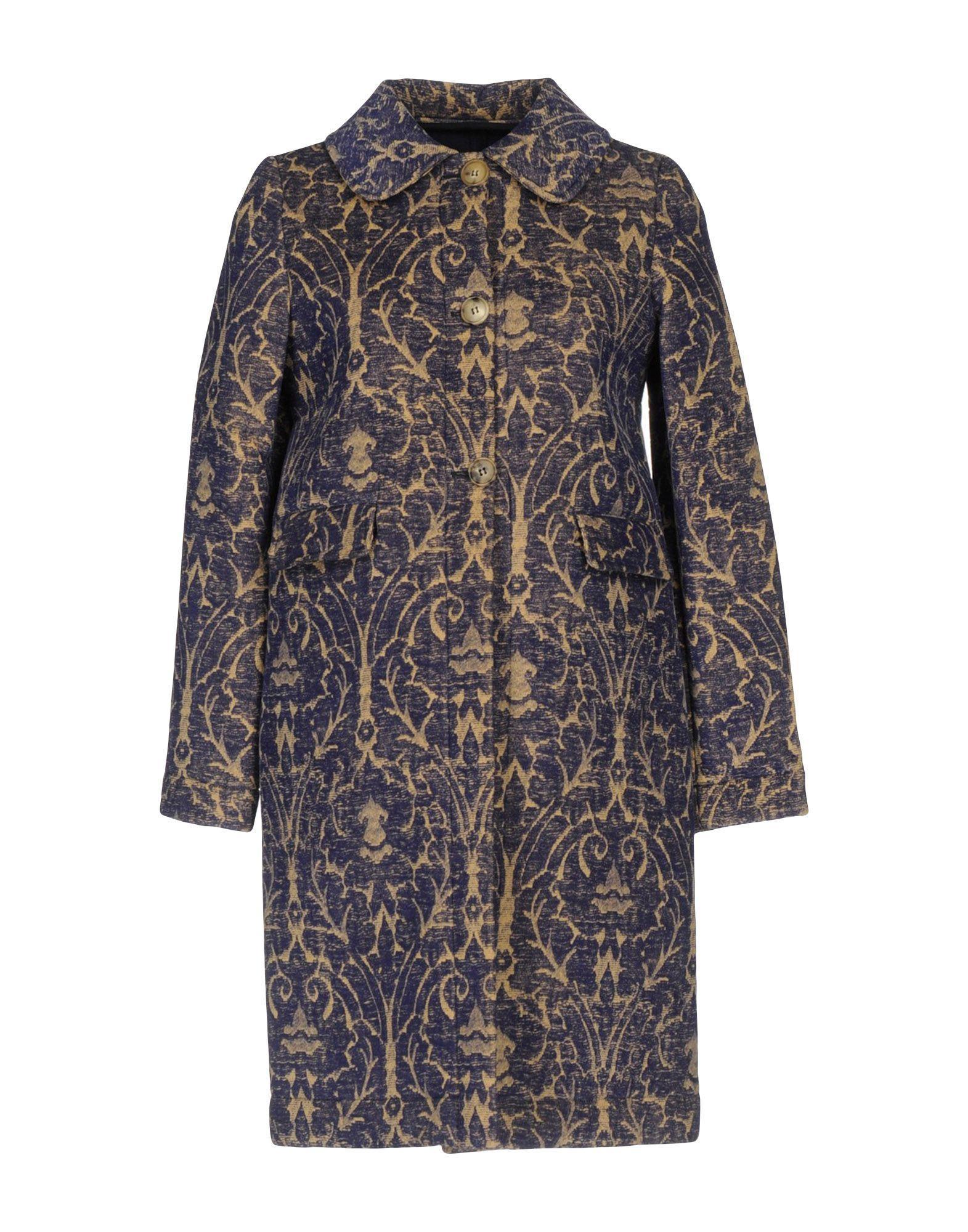Douuod Coat In Bright Blue