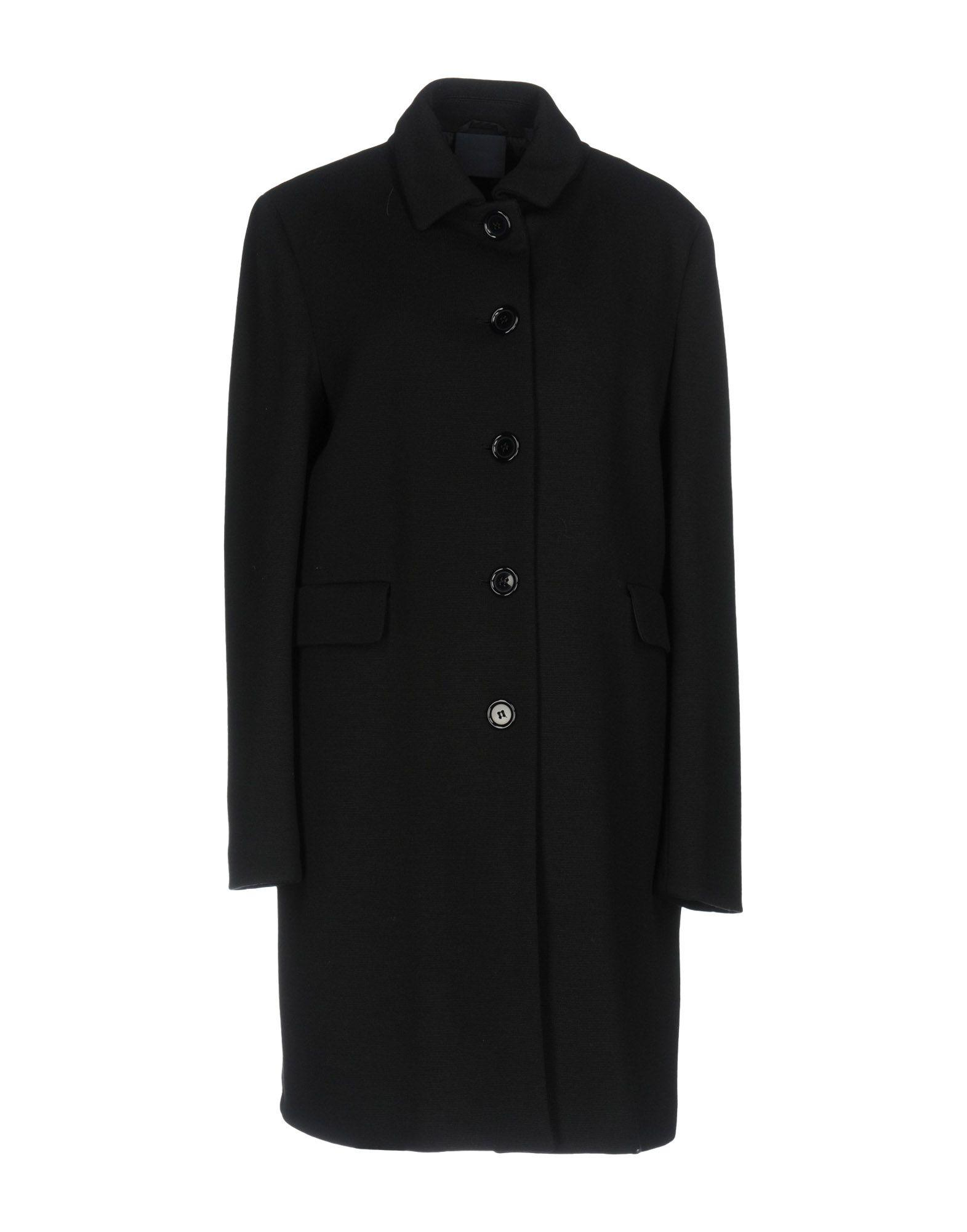 Aspesi Coats In Black