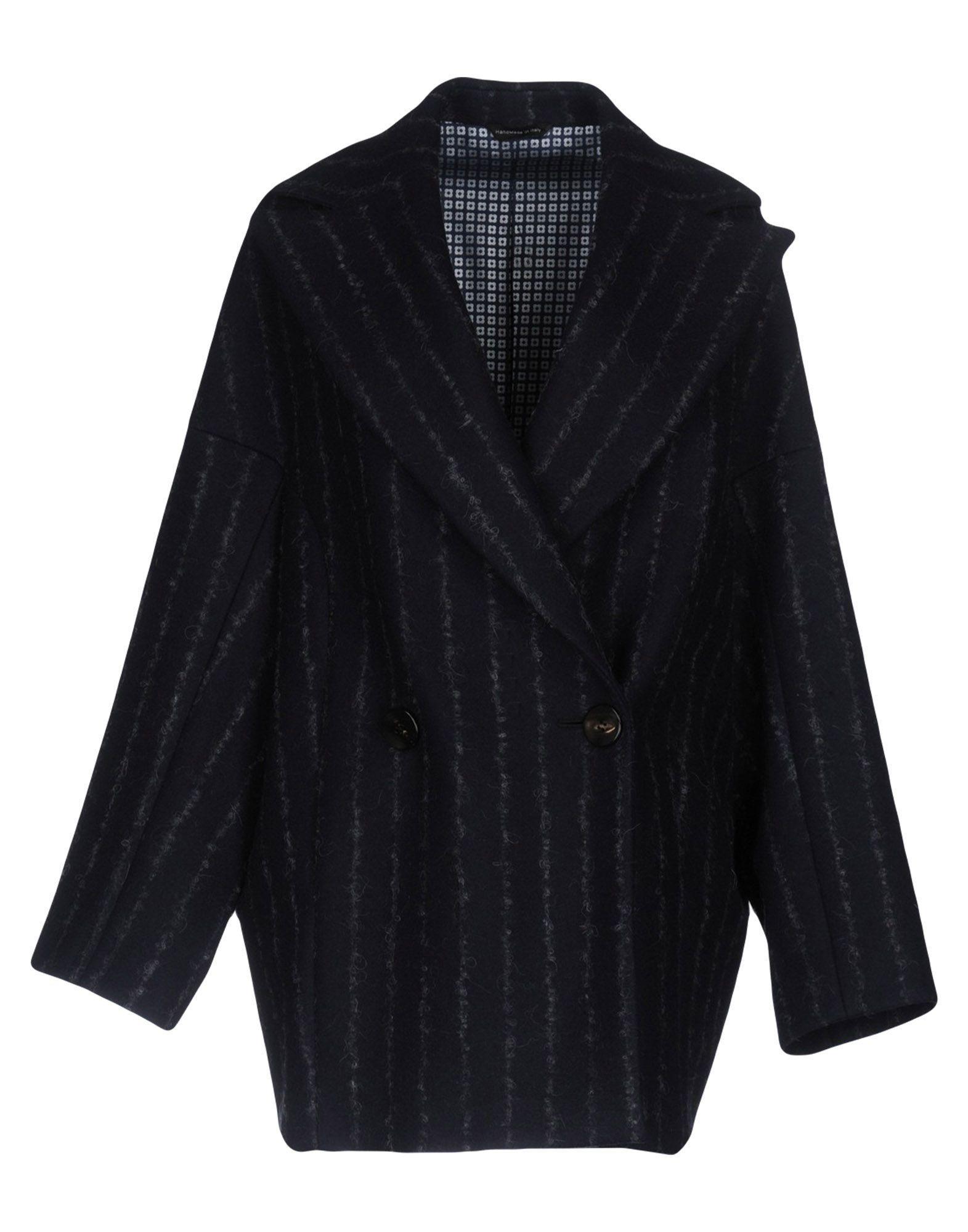 Tonello Coats In Dark Blue