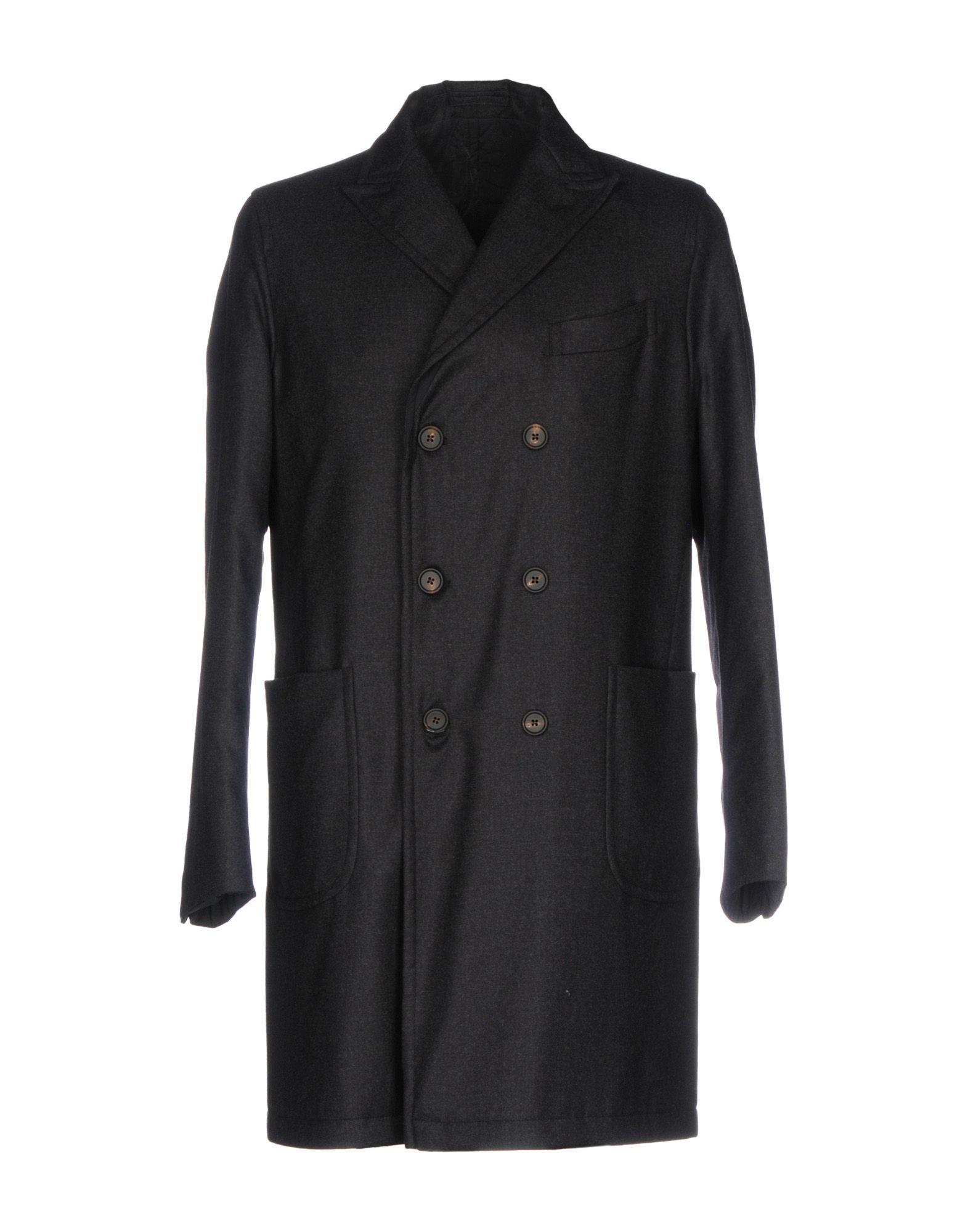 Rvr Lardini Coats In Steel Grey