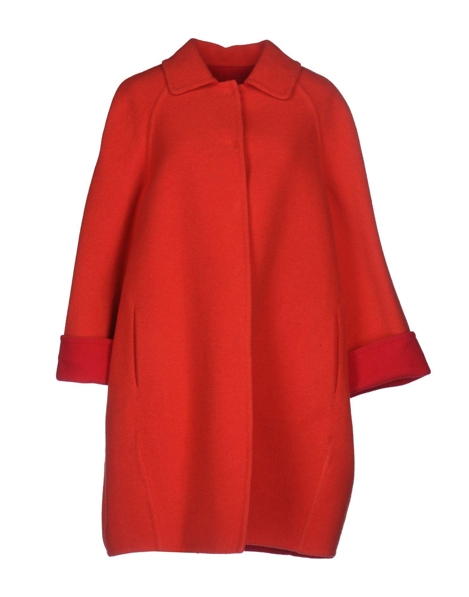 Gianluca Capannolo Coats In Red