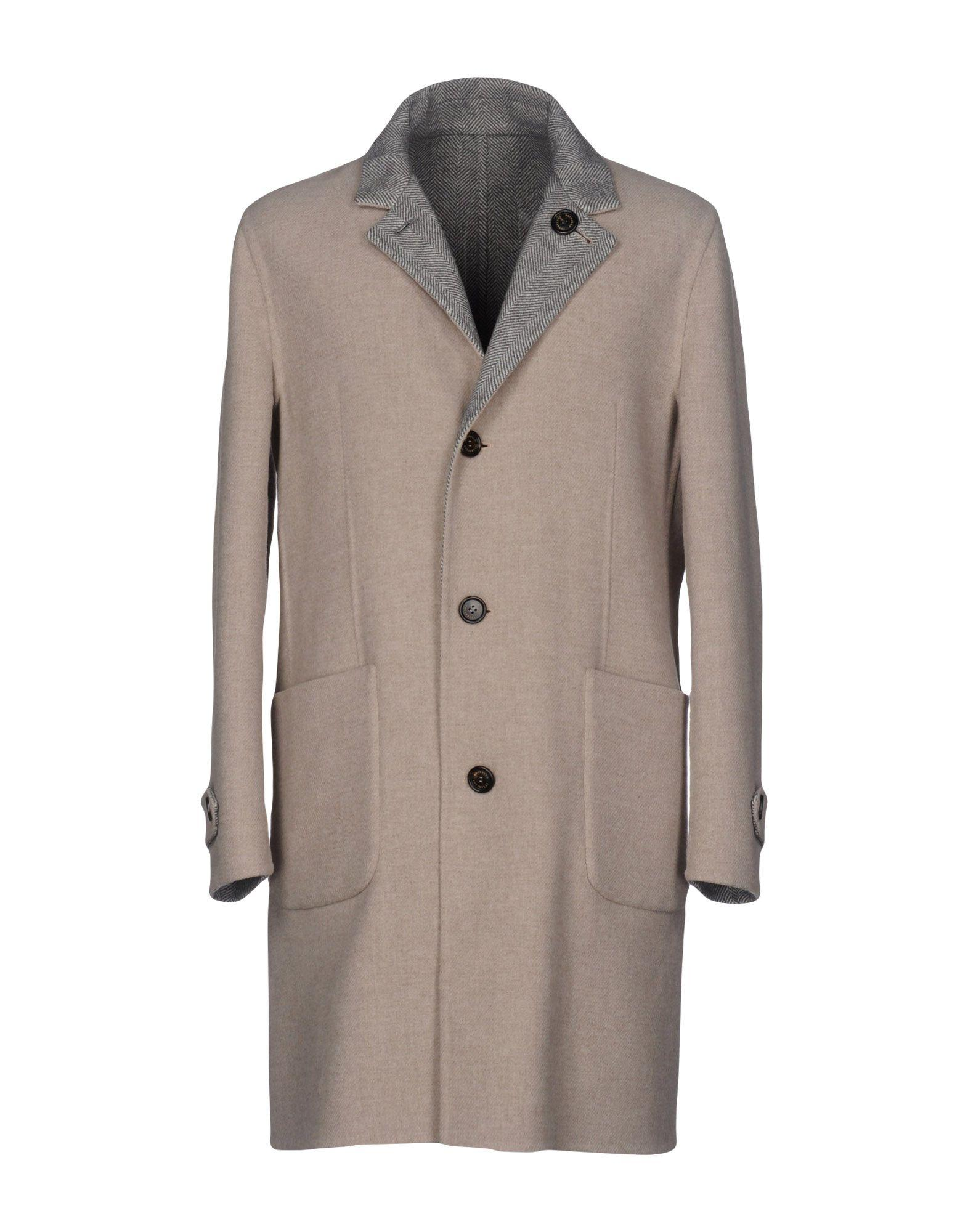 Brunello Cucinelli Coat In Beige